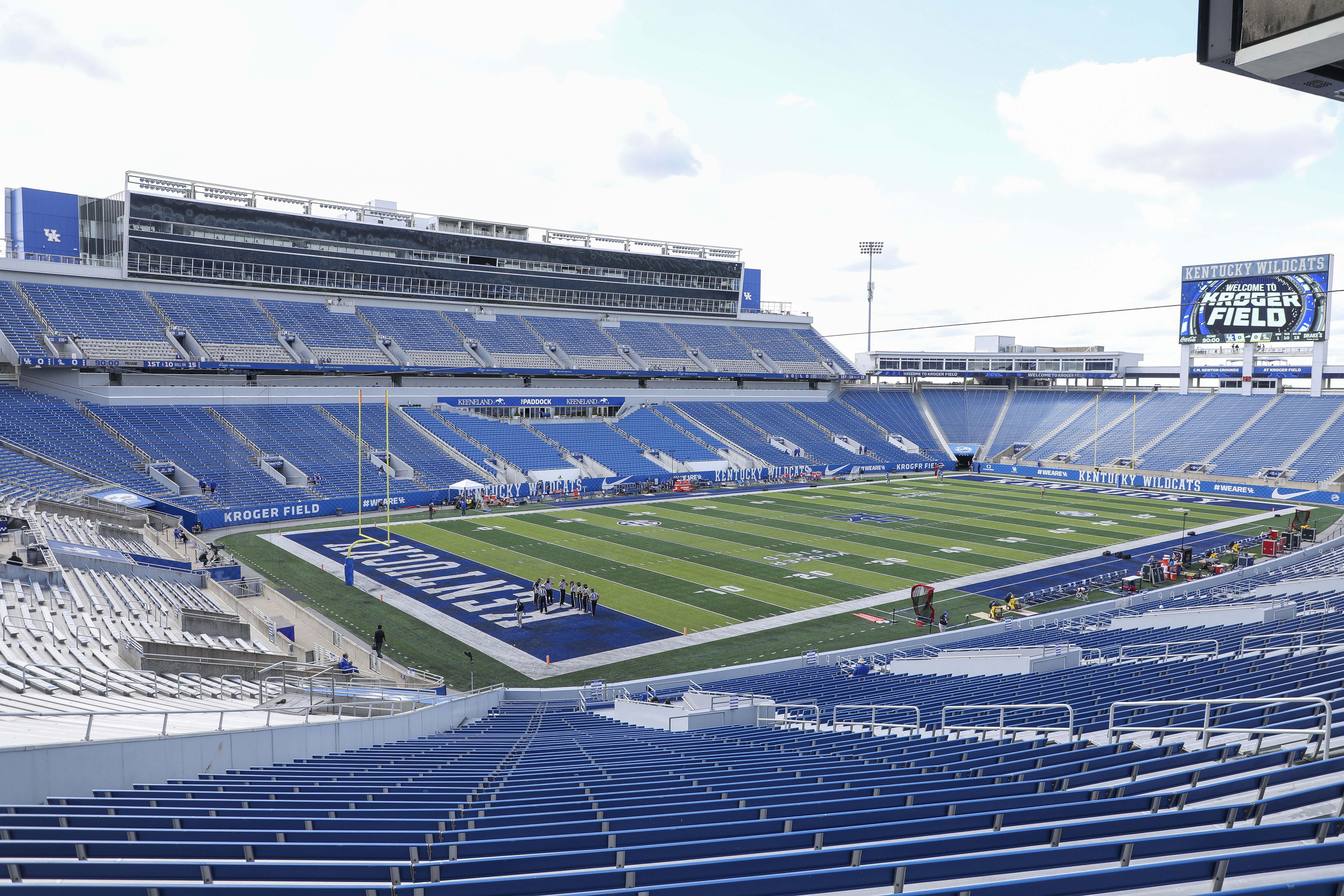 NCAA Football: Mississippi at Kentucky