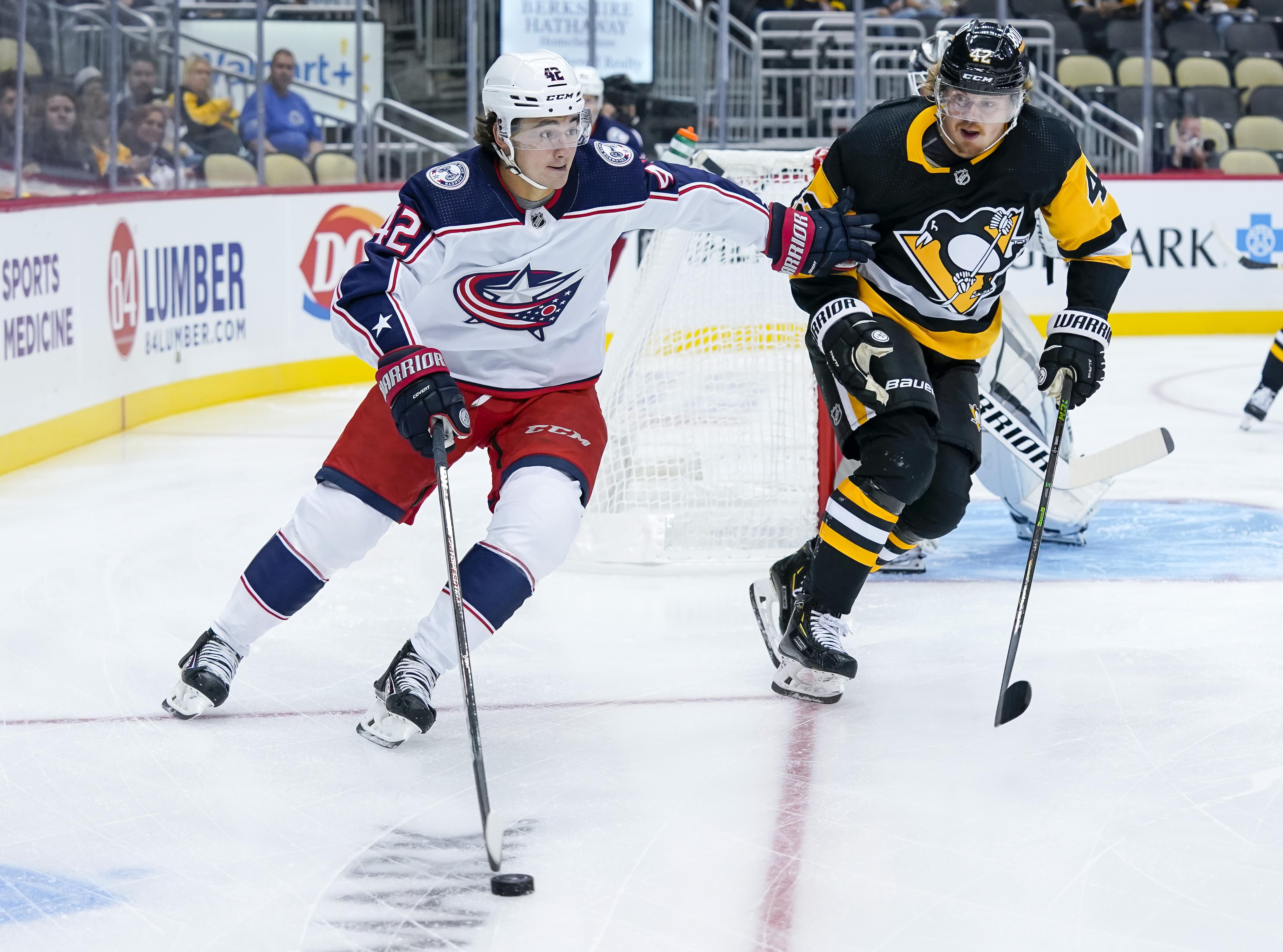 NHL: SEP 27 Preseason - Blue Jackets at Penguins