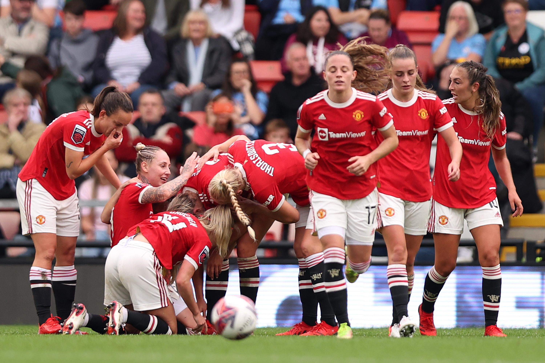 Manchester United Women v Manchester City Women - Barclays FA Women's Super League