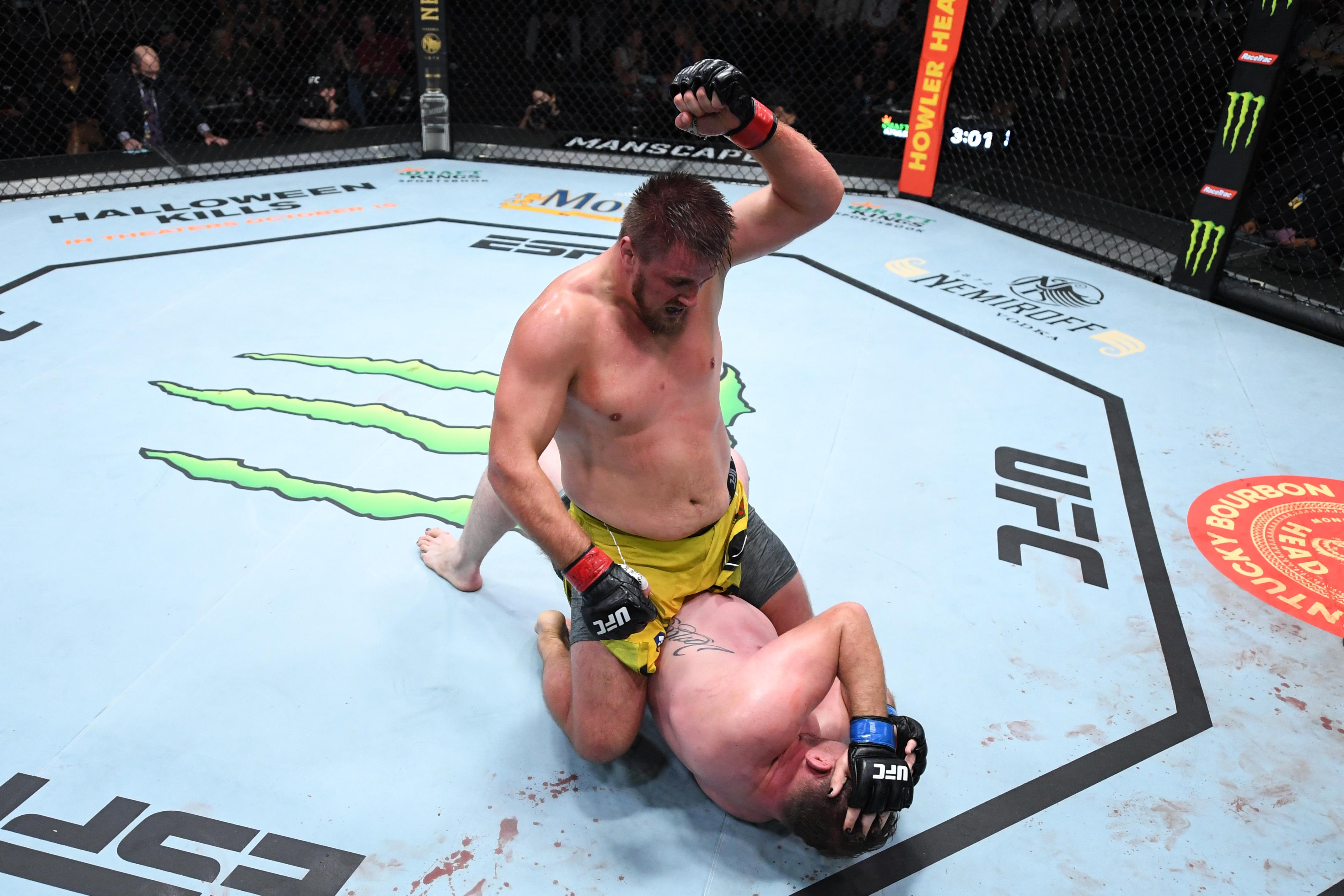 终极格斗冠军赛之夜:罗曼诺夫对凡达