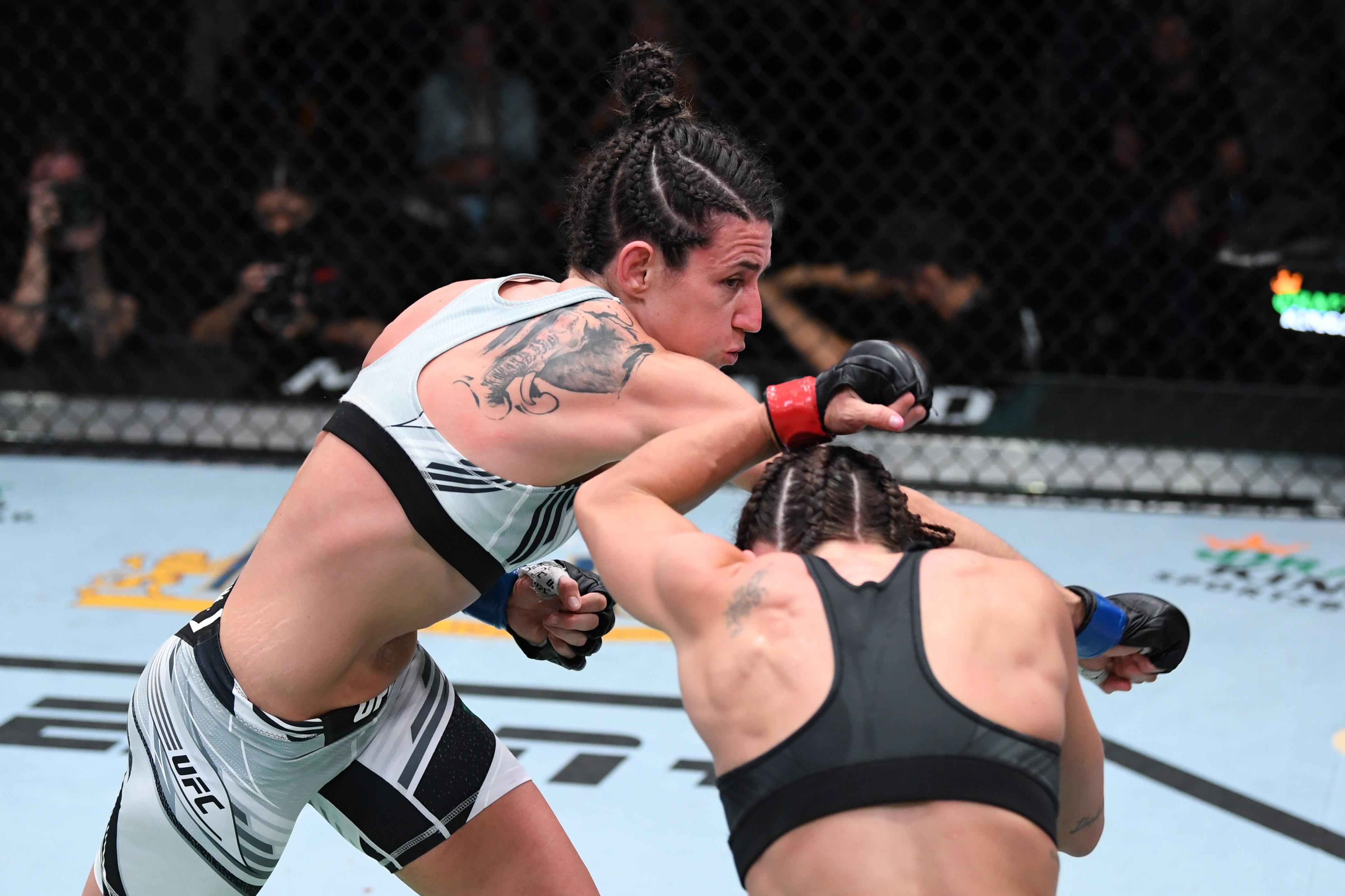 Marina Rodriguez defeated Mackenzie Dern at UFC Vegas 39.