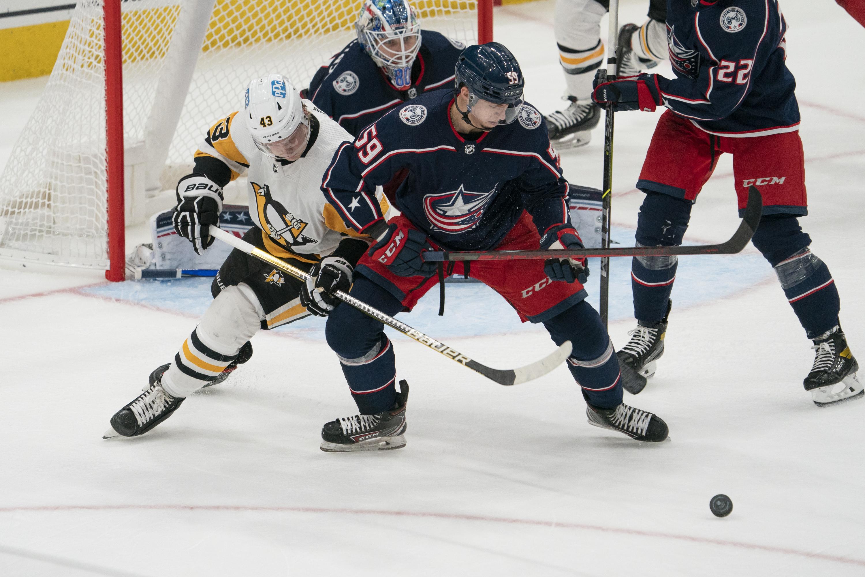 NHL: OCT 09 Preseason - Penguins at Blue Jackets