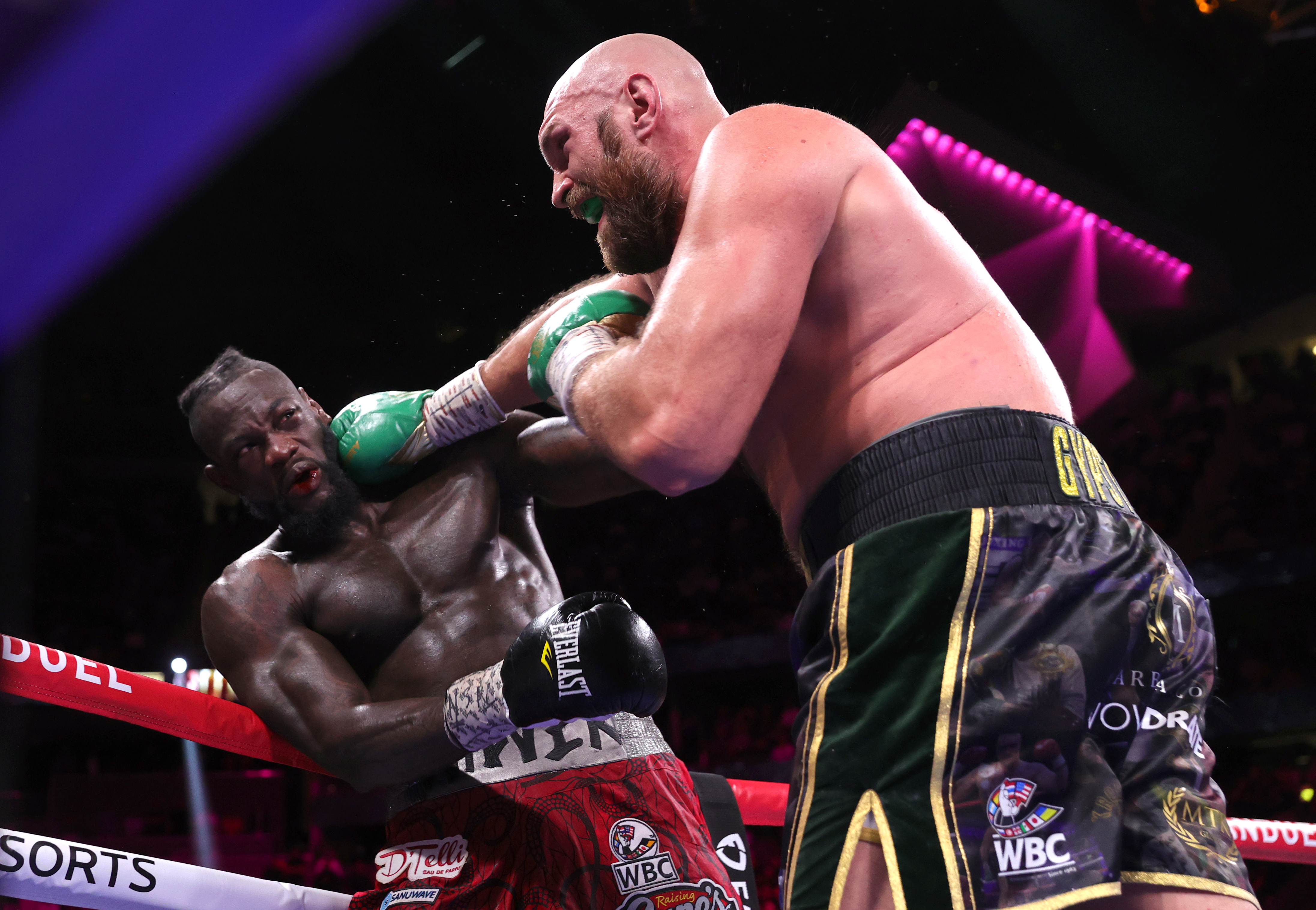Tyson Fury knocked out Deontay Wilder in their trilogy bout.