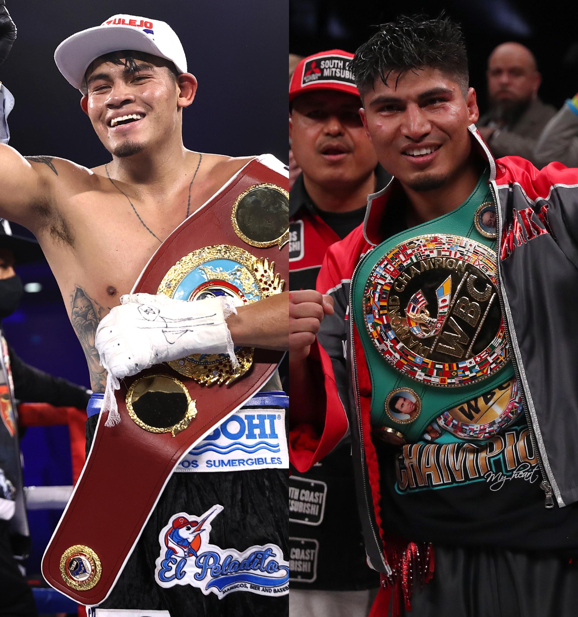 Emanuel Navarrete and Mikey Garcia headline this week's boxing schedule