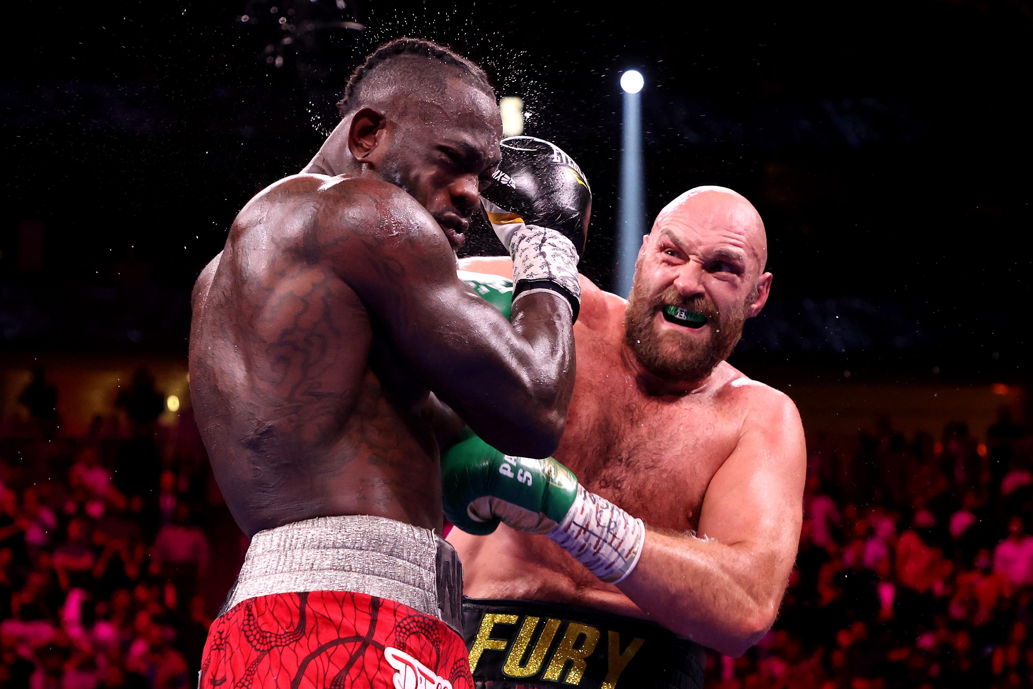 Tyson Fury vs. Deontay Wilder 3.