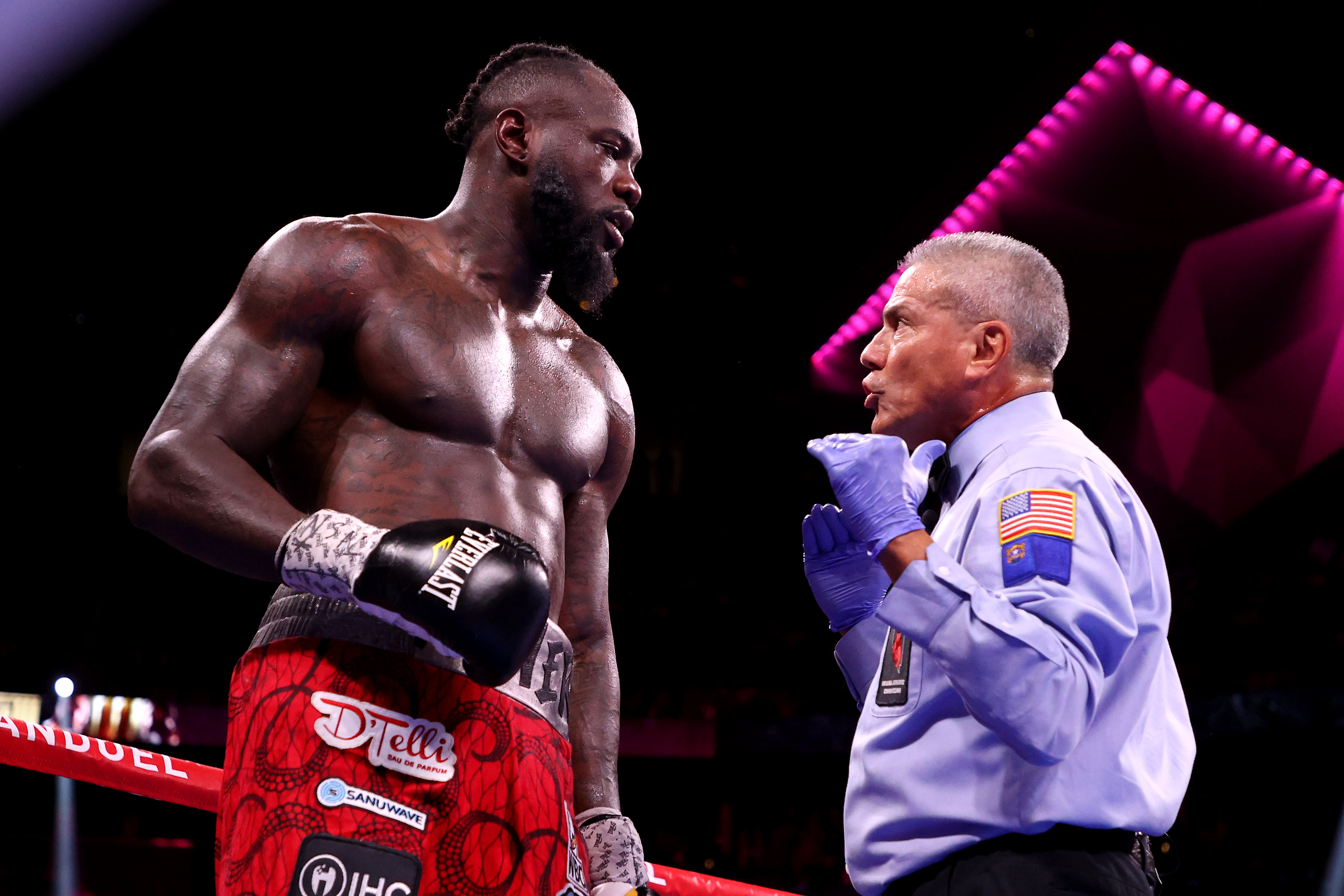 Deontay Wilder left it all in the ring against Tyson Fury