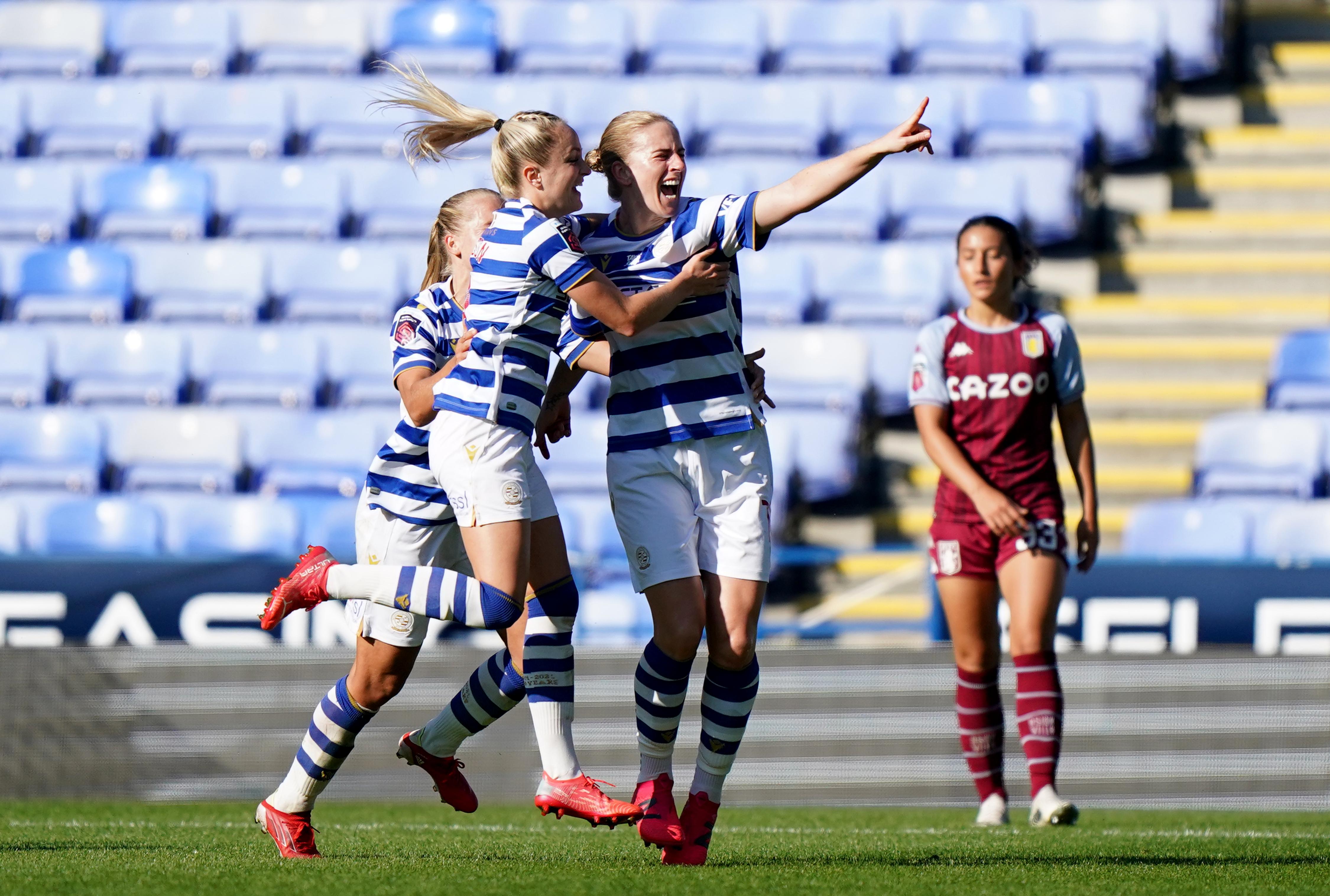 Reading v Aston Villa - FA Women's Super League - Madejski Stadium