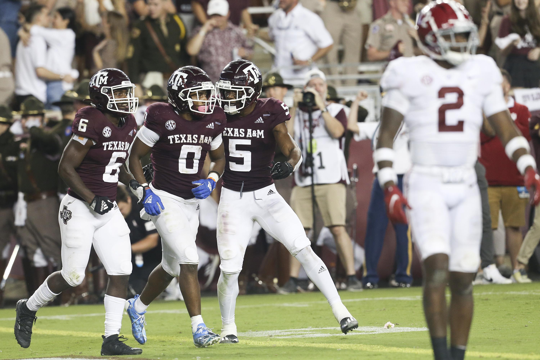 NCAA Football: Alabama at Texas A&M