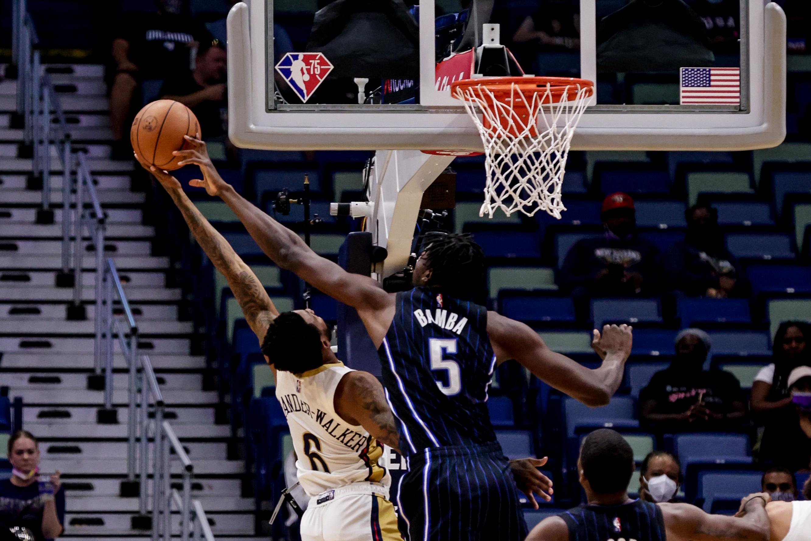 NBA: Preseason-Orlando Magic at New Orleans Pelicans