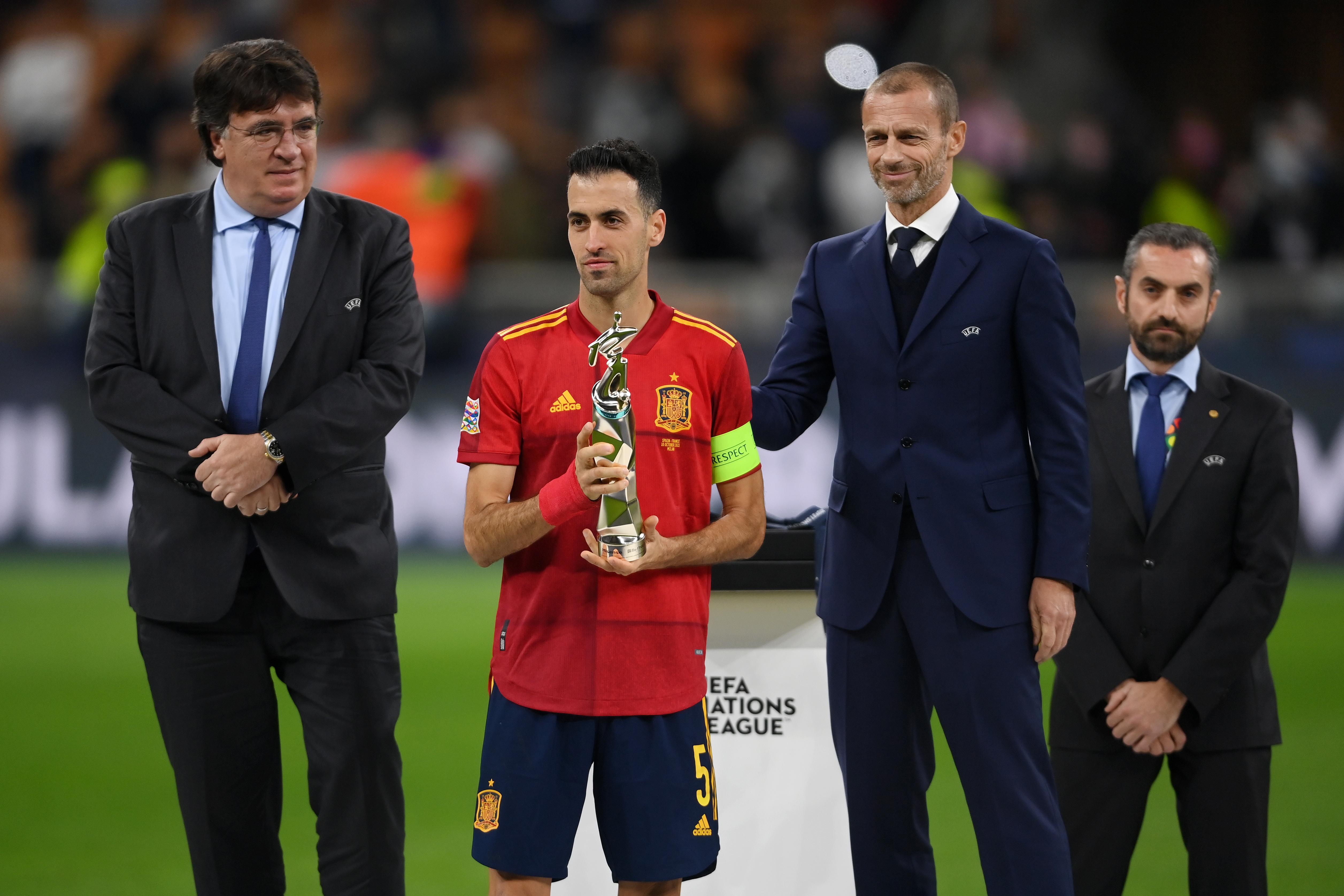 Spain v France – UEFA Nations League 2021 Final