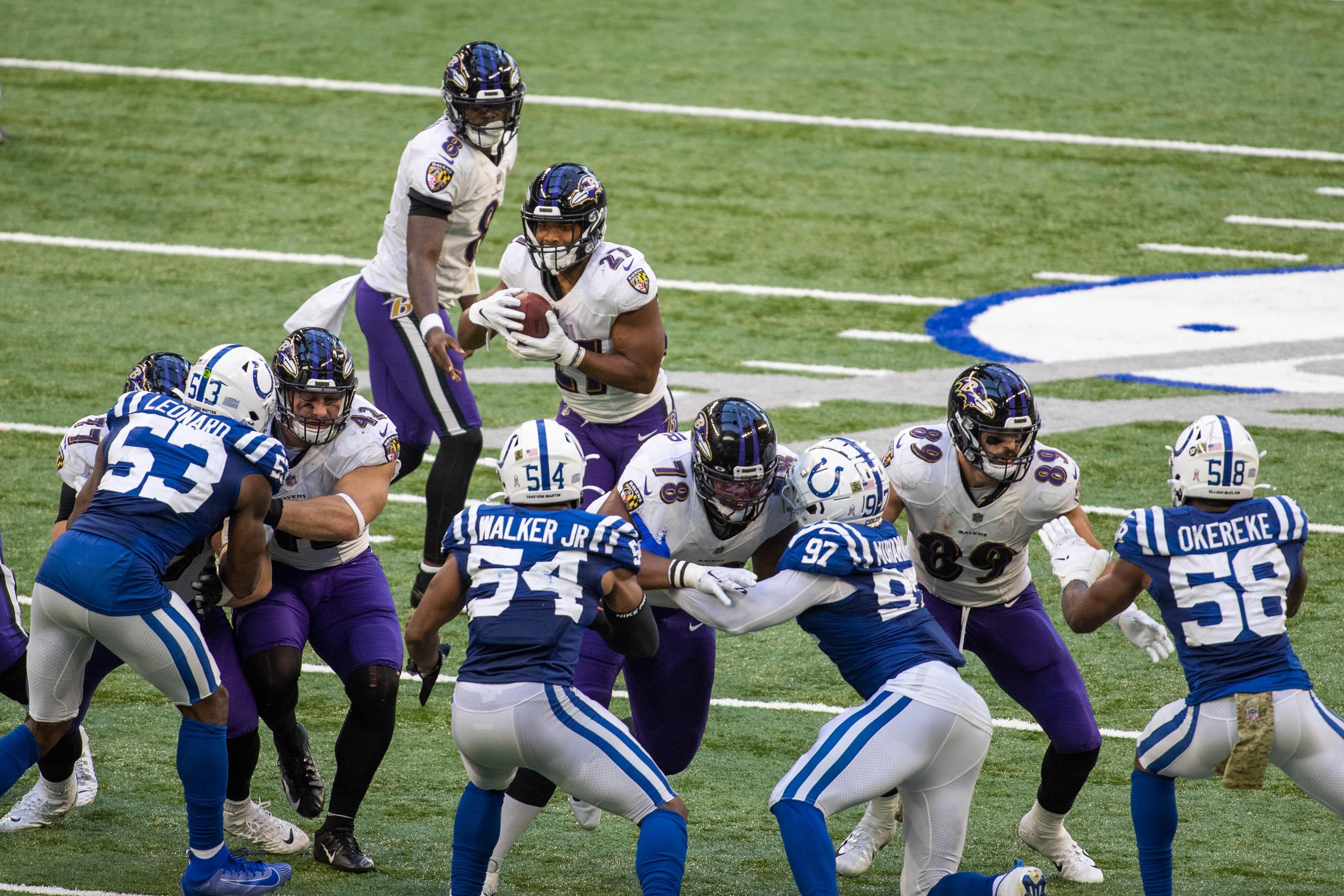 NFL: Baltimore Ravens at Indianapolis Colts
