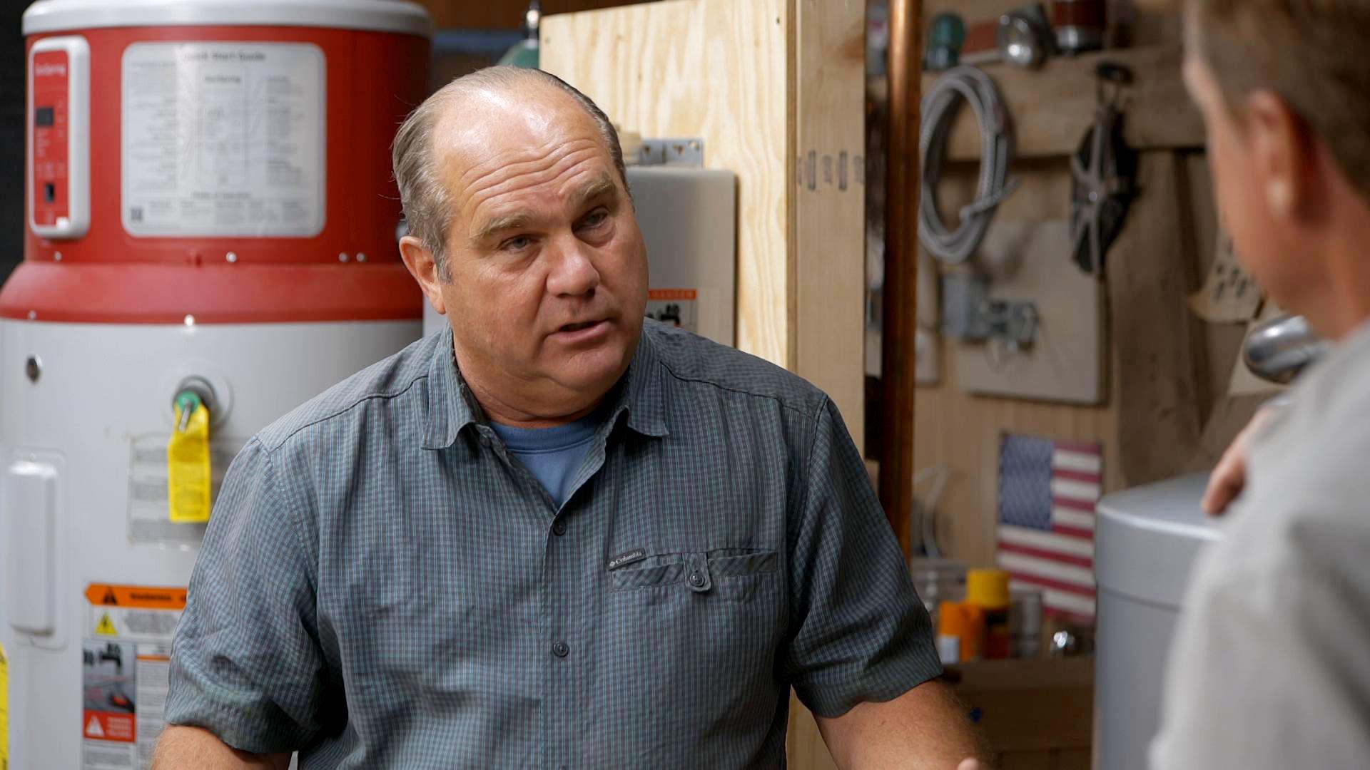 S20 E2, Richard Trethewey explains water heaters