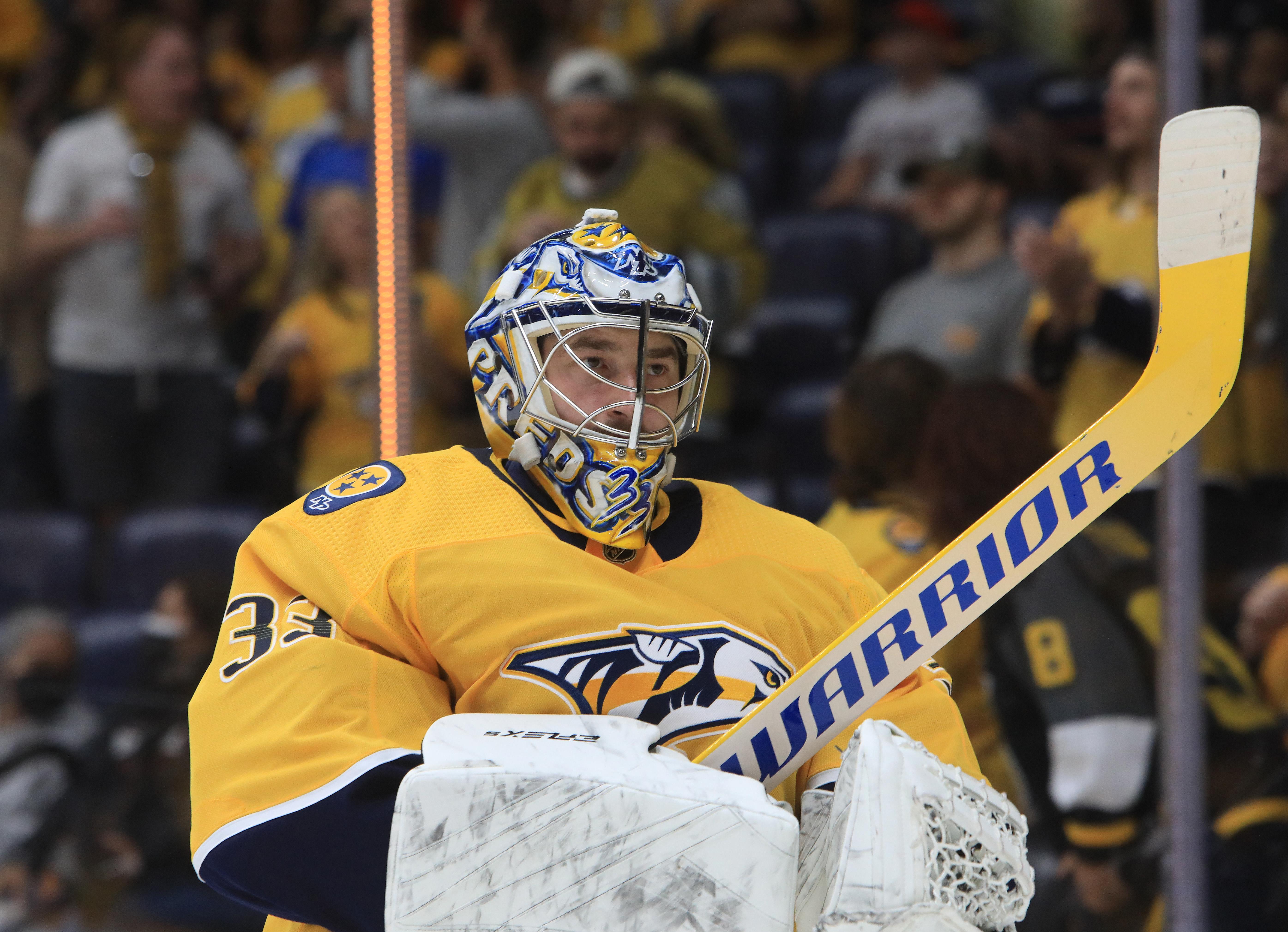 NHL: OCT 09 Hurricanes at Predators