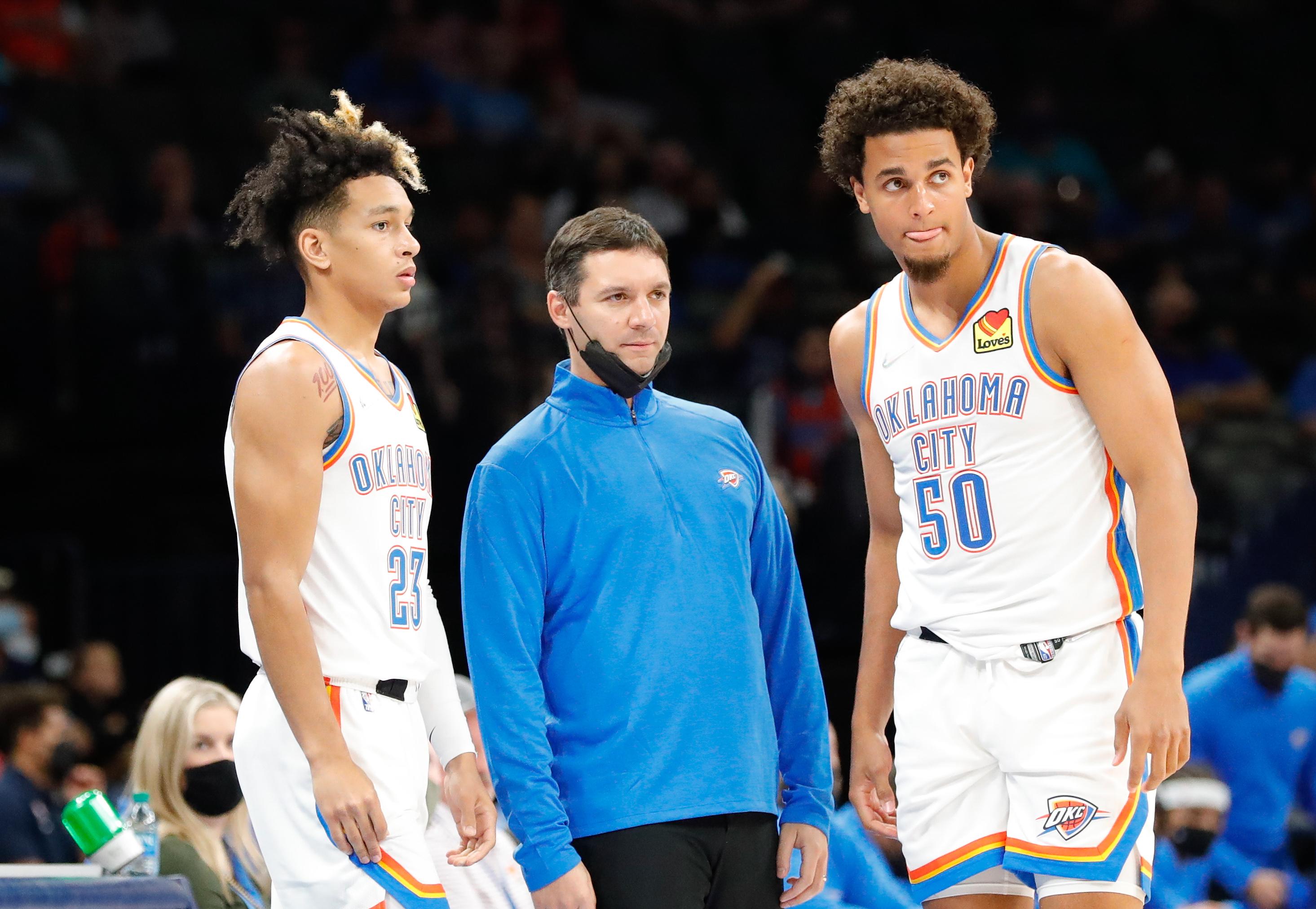 NBA: Preseason-Charlotte Hornets at Oklahoma City Thunder