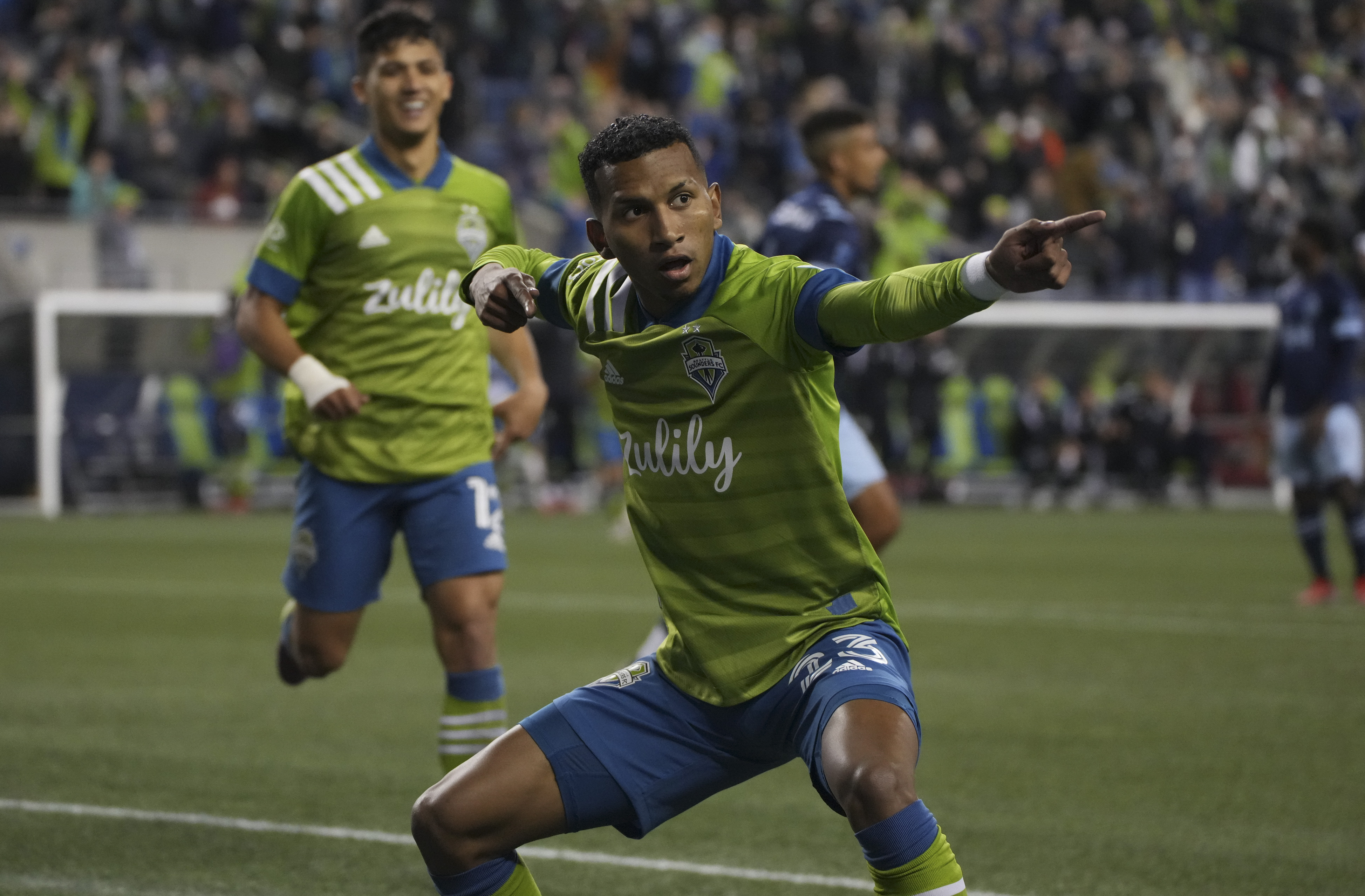 SOCCER: OCT 09 MLS - Vancouver Whitecaps at Seattle Sounders