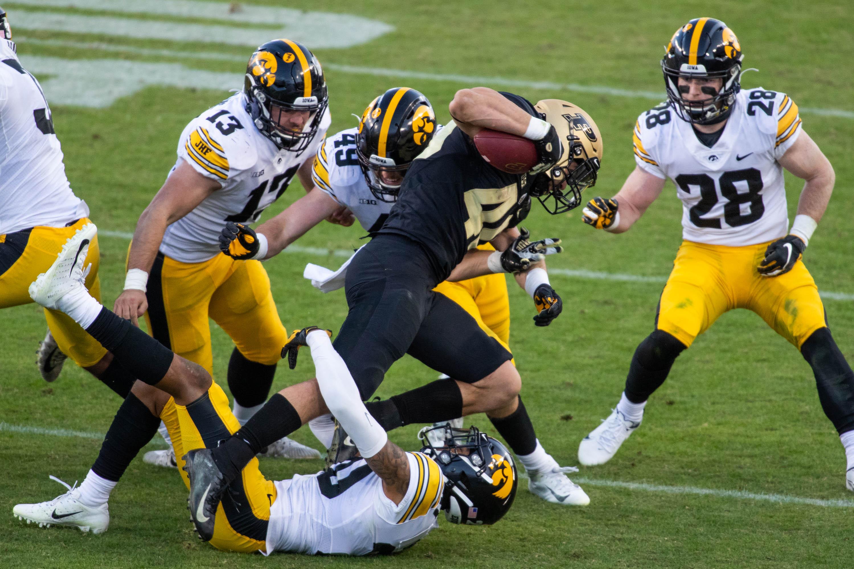 NCAA Football: Iowa at Purdue