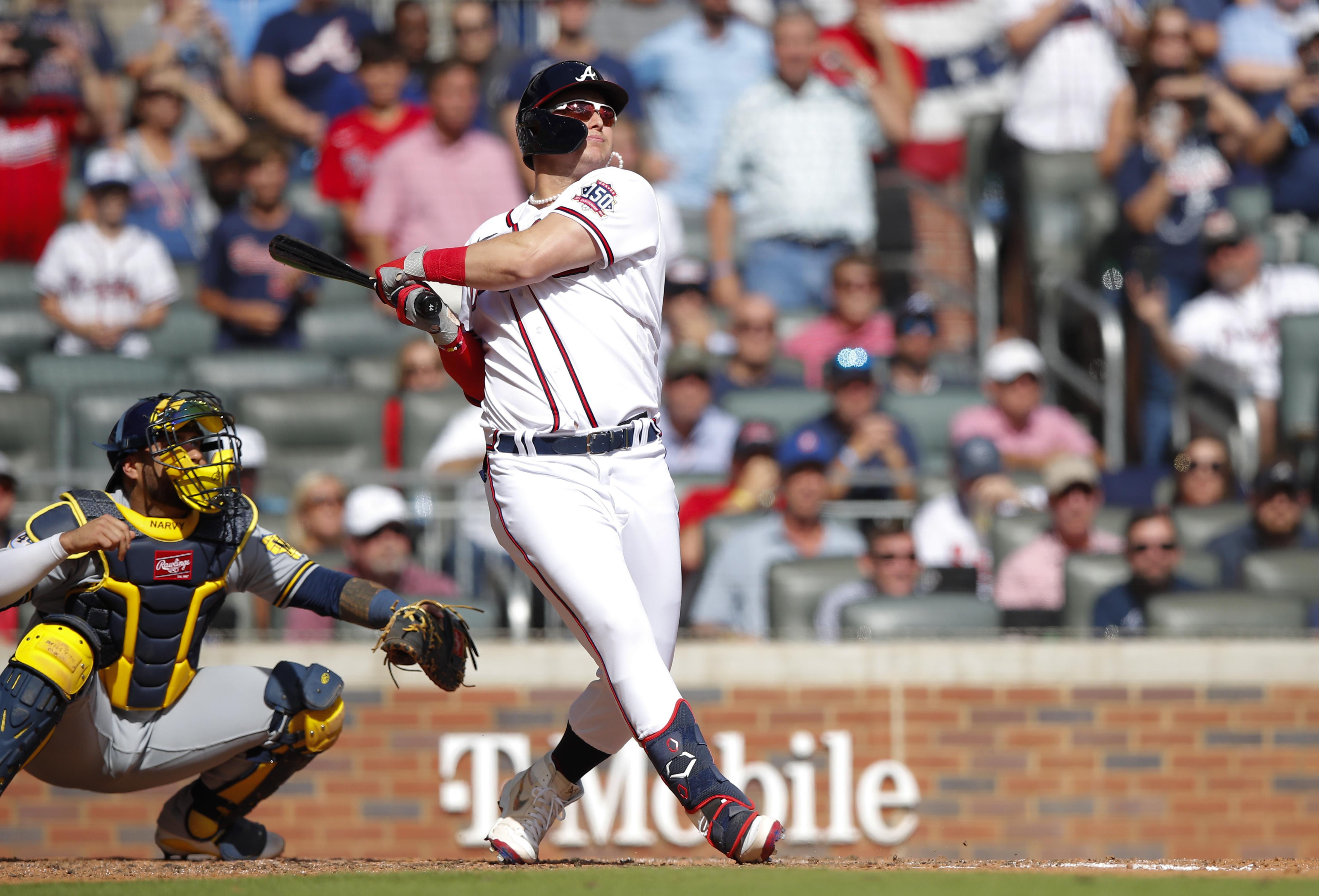 Division Series - Milwaukee Brewers v Atlanta Braves - Game Three