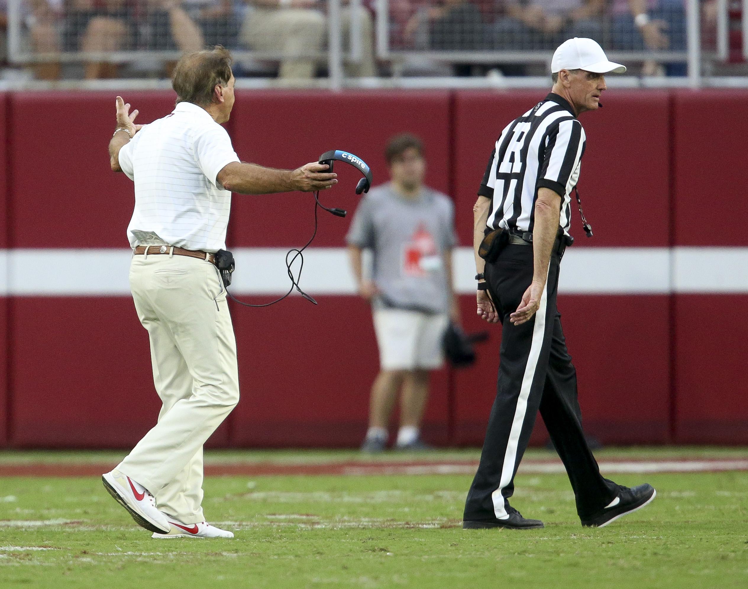 NCAA Football: Mississippi at Alabama