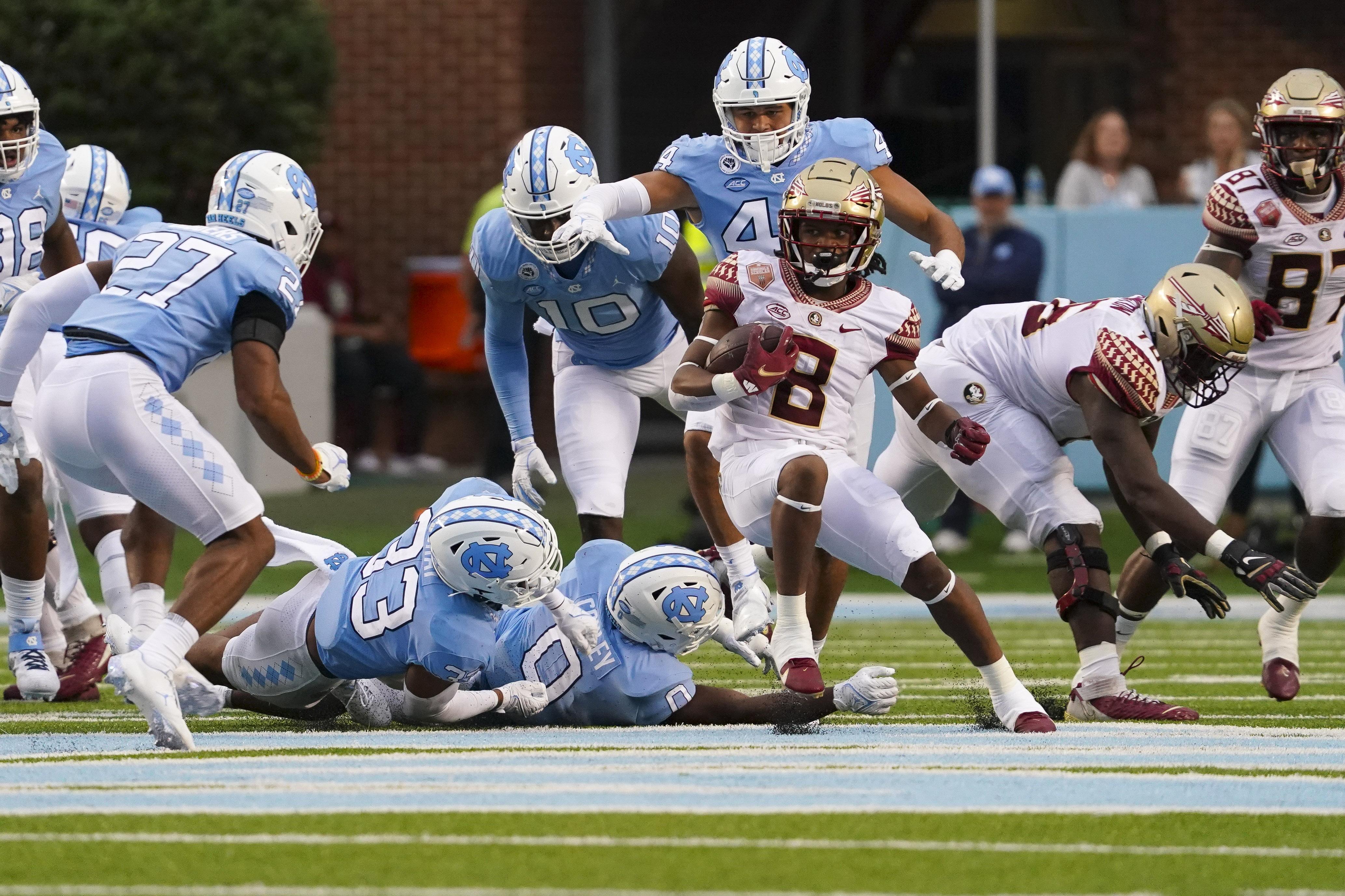 NCAA Football: Florida State at North Carolina