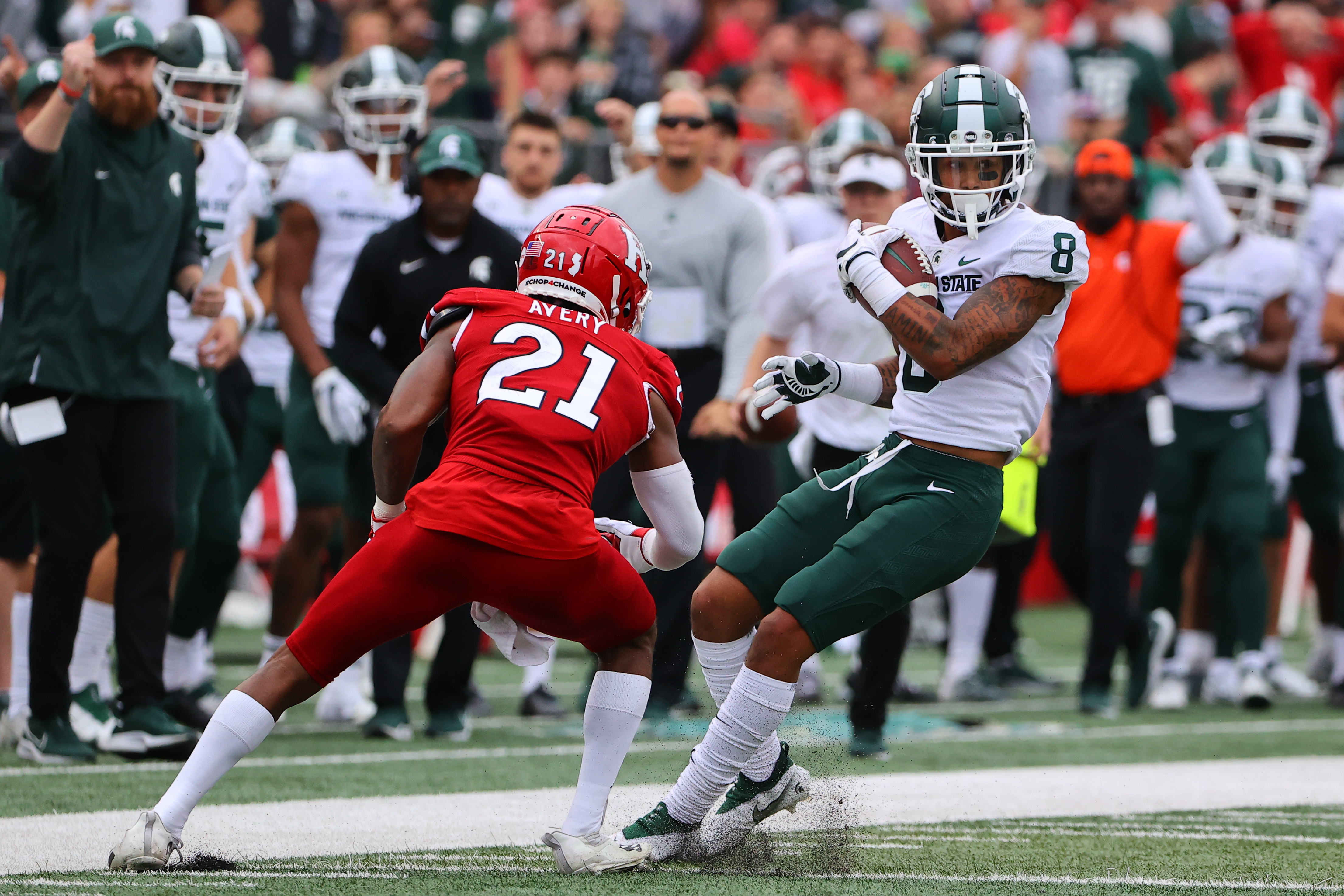 COLLEGE FOOTBALL: OCT 09 Michigan State at Rutgers