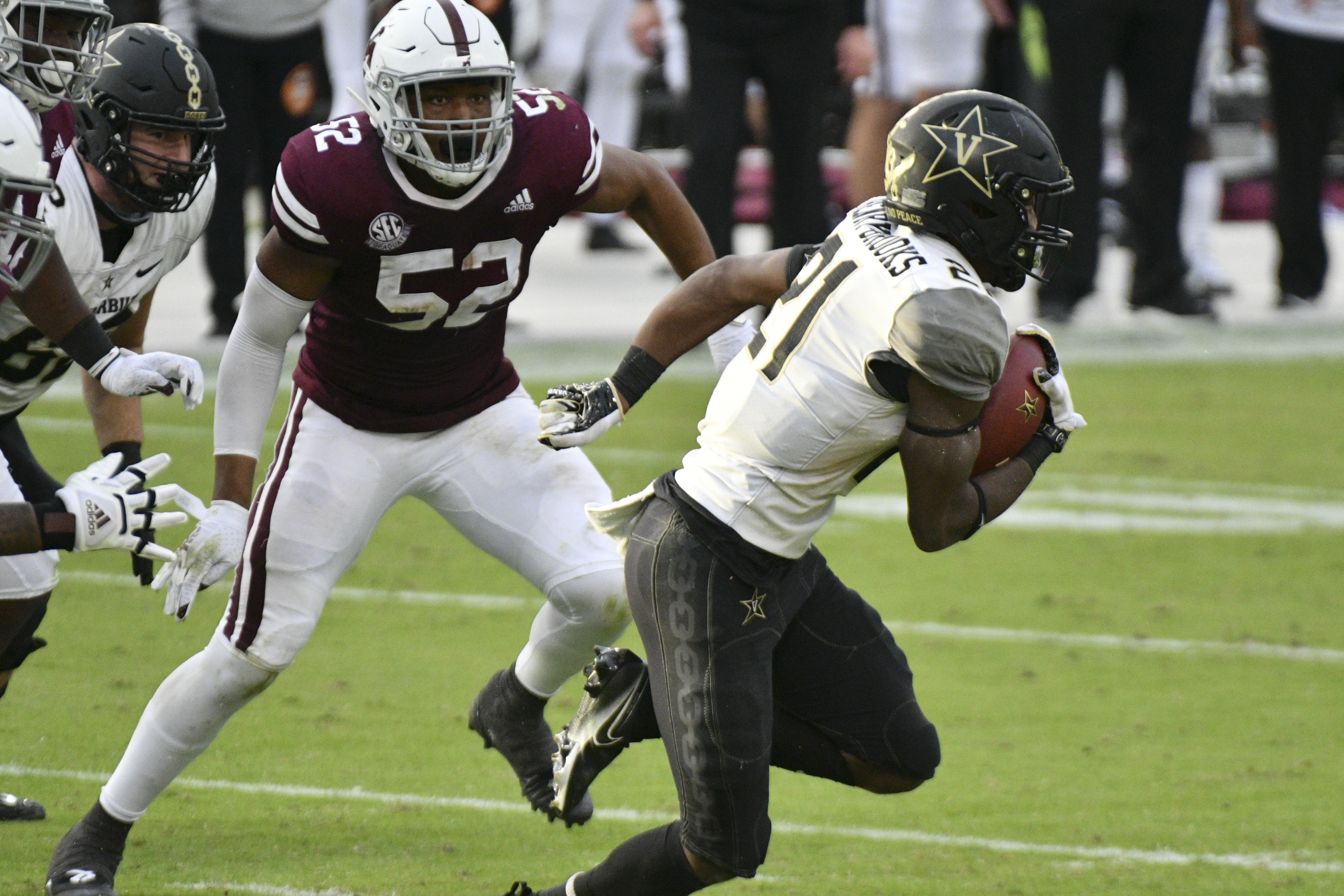 NCAA Football: Vanderbilt at Mississippi State