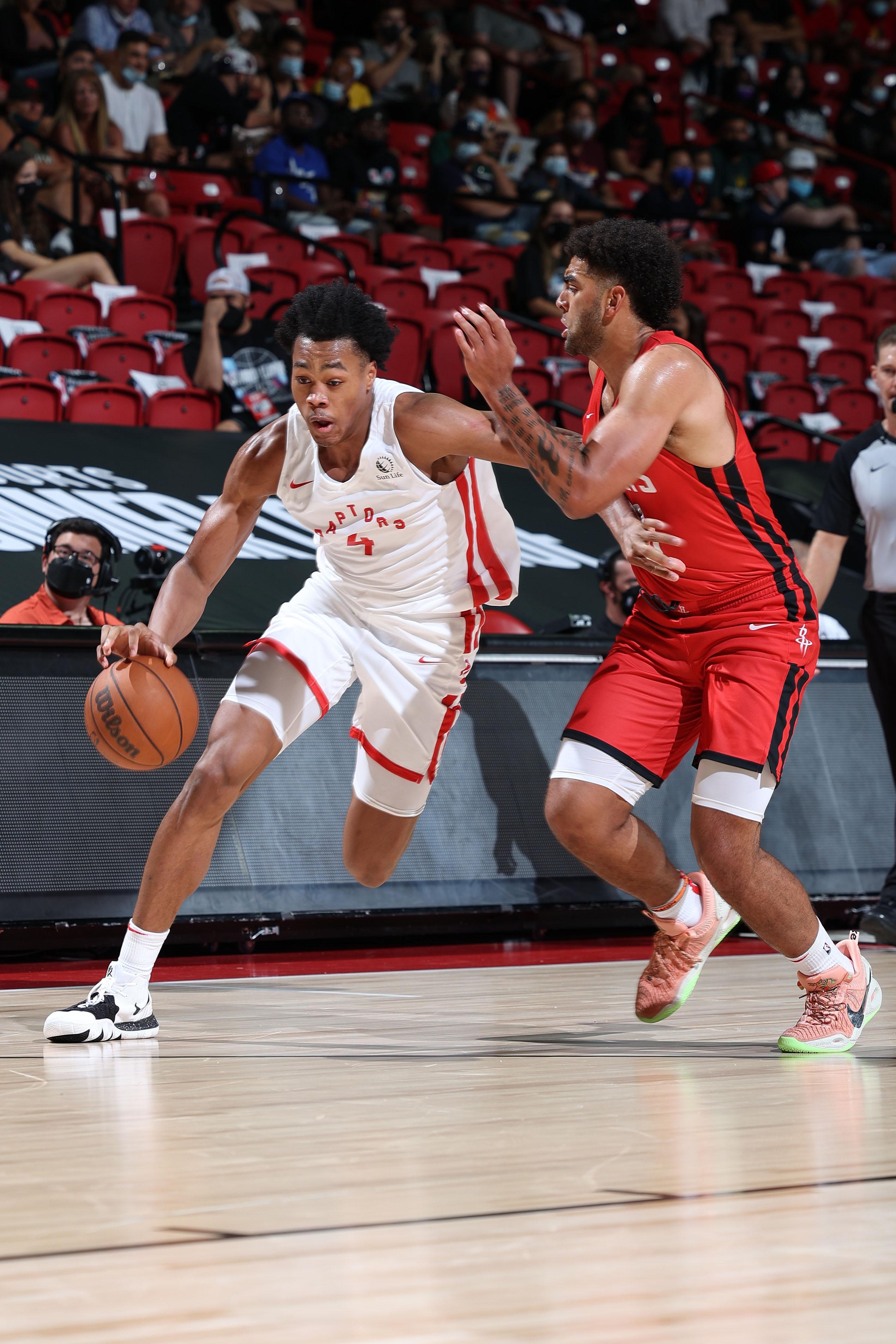 2021 Las Vegas Summer League - Houston Rockets v Toronto Raptors