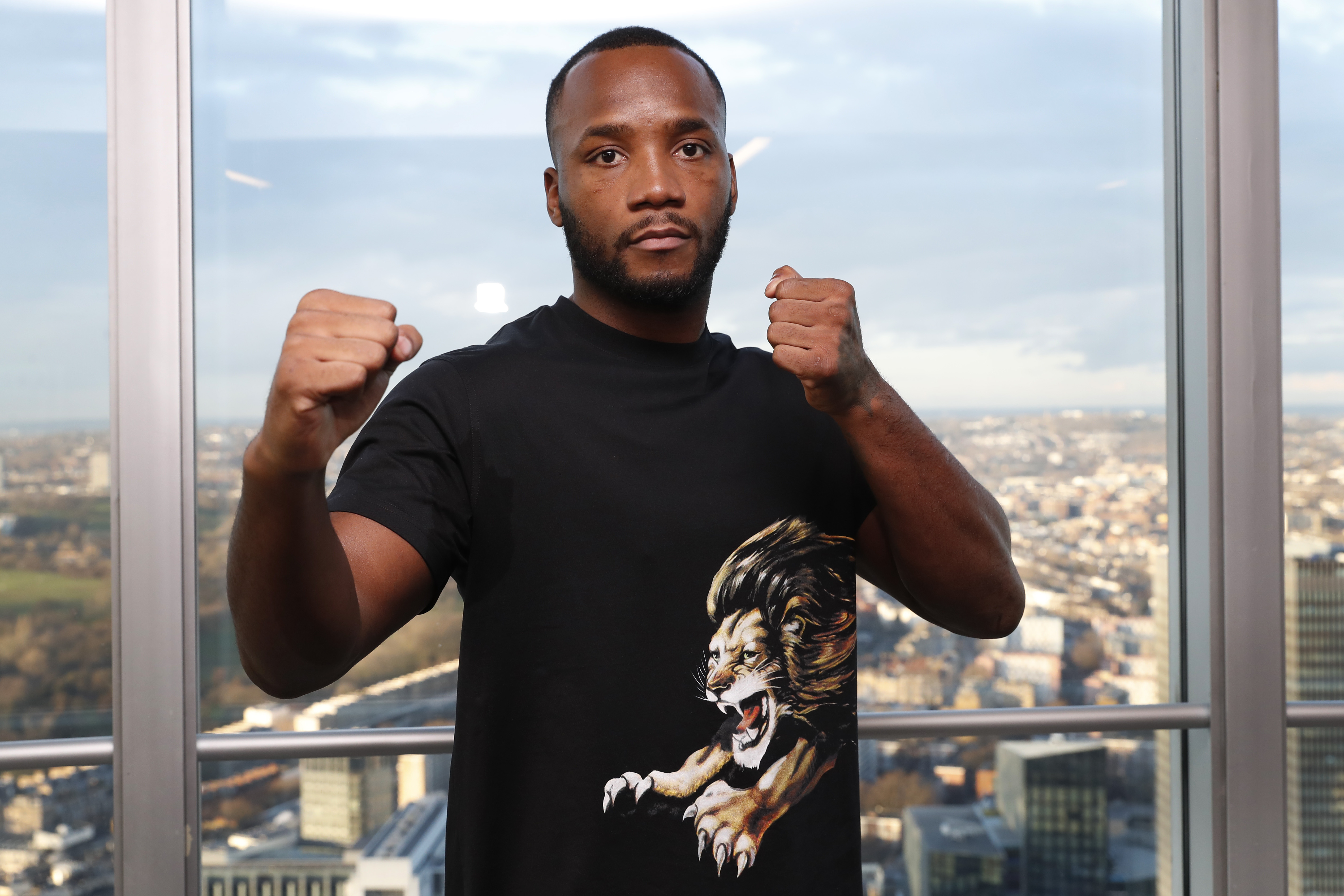 Leon Edwards, an English mixed martial artist poses for a photo during the UFC press confrence at BT Tower on January 30, 2019 in London, England.