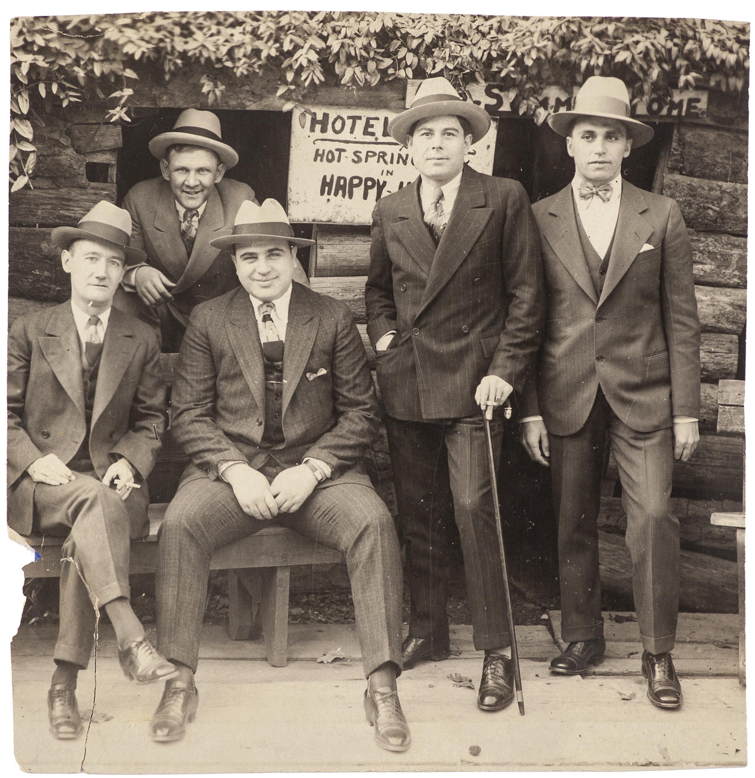 Photo of Al Capone and associates