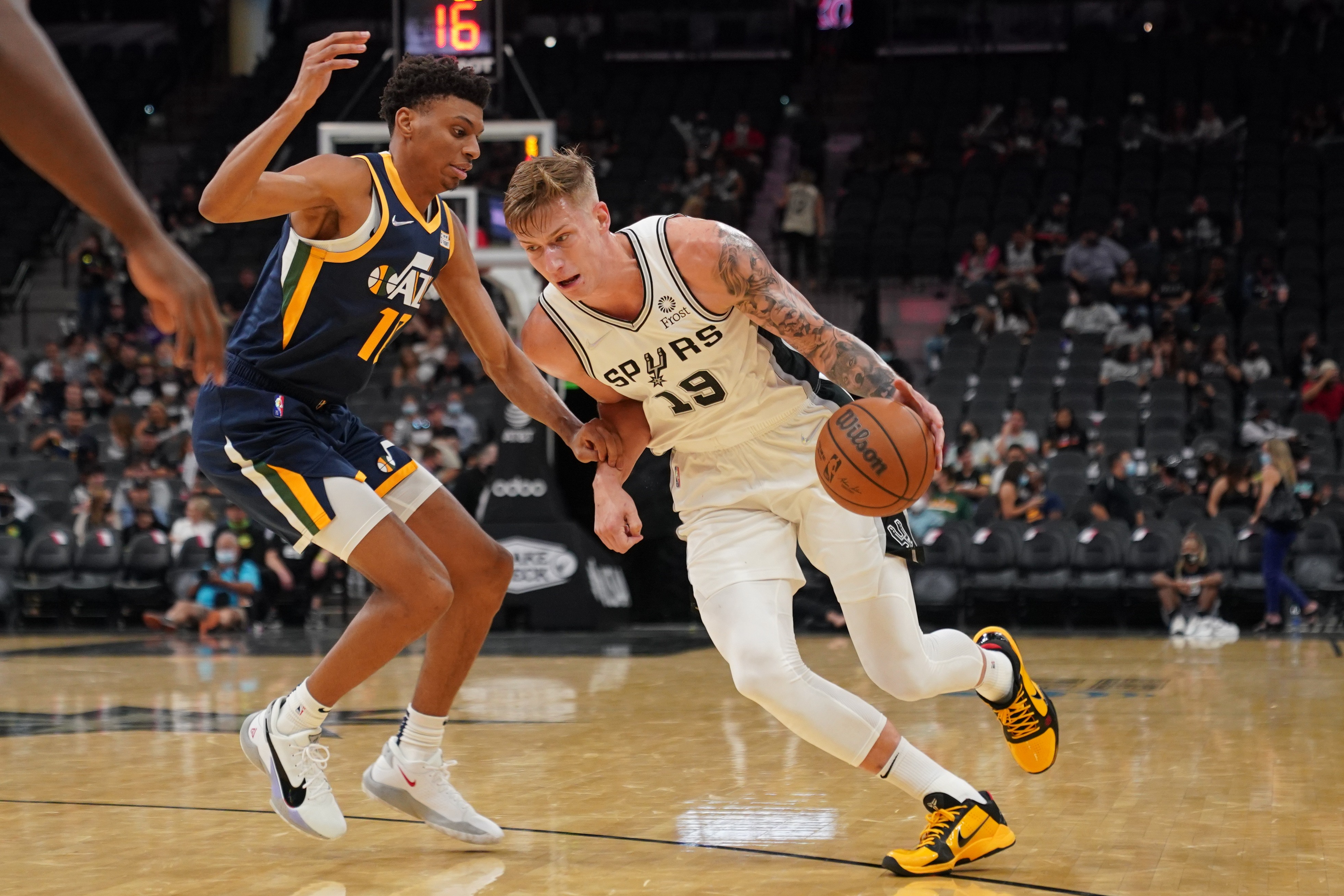 NBA: Preseason-Utah Jazz at San Antonio Spurs