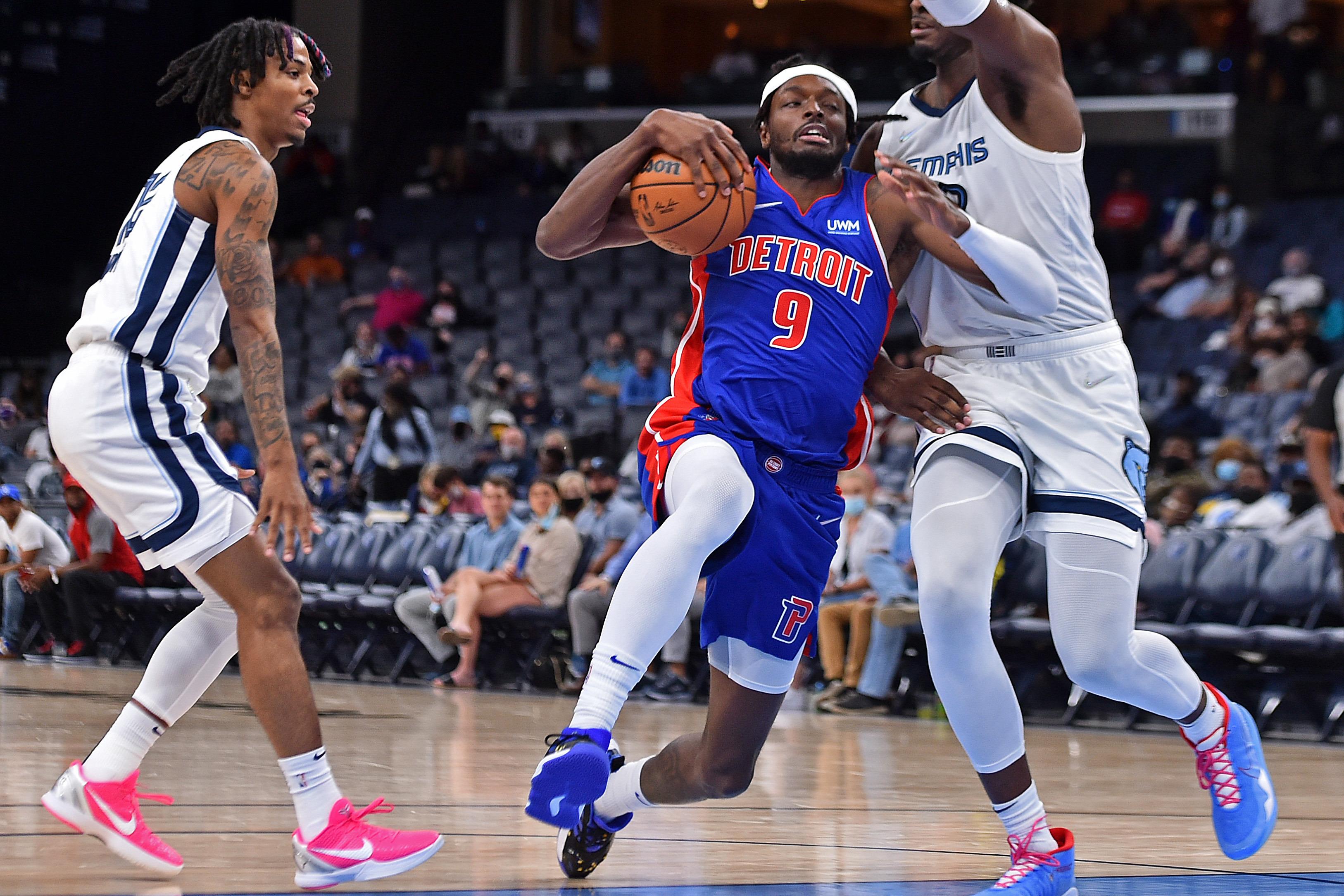 NBA: Preseason-Detroit Pistons at Memphis Grizzlies