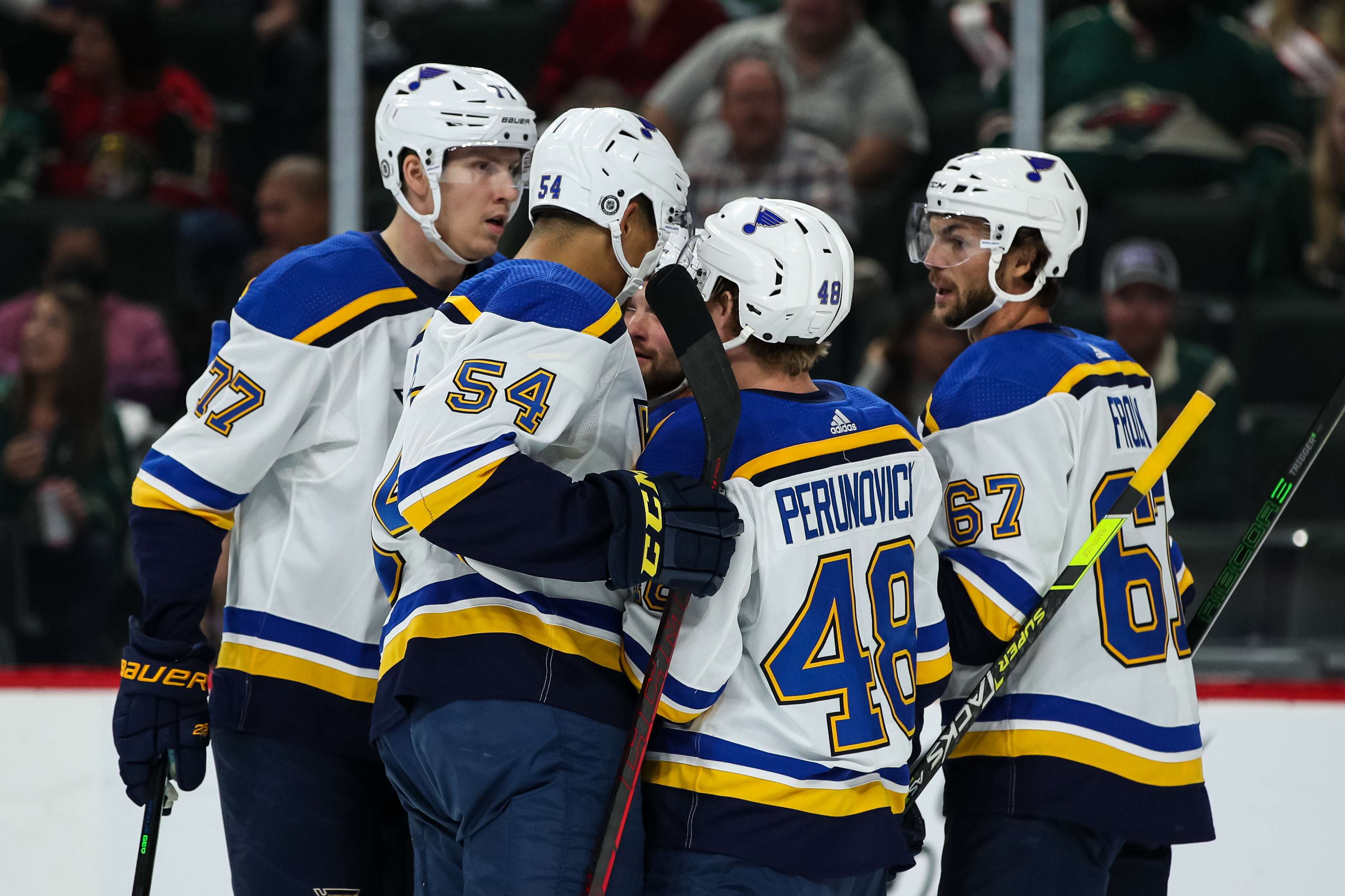 NHL: Preseason-St. Louis Blues at Minnesota Wild