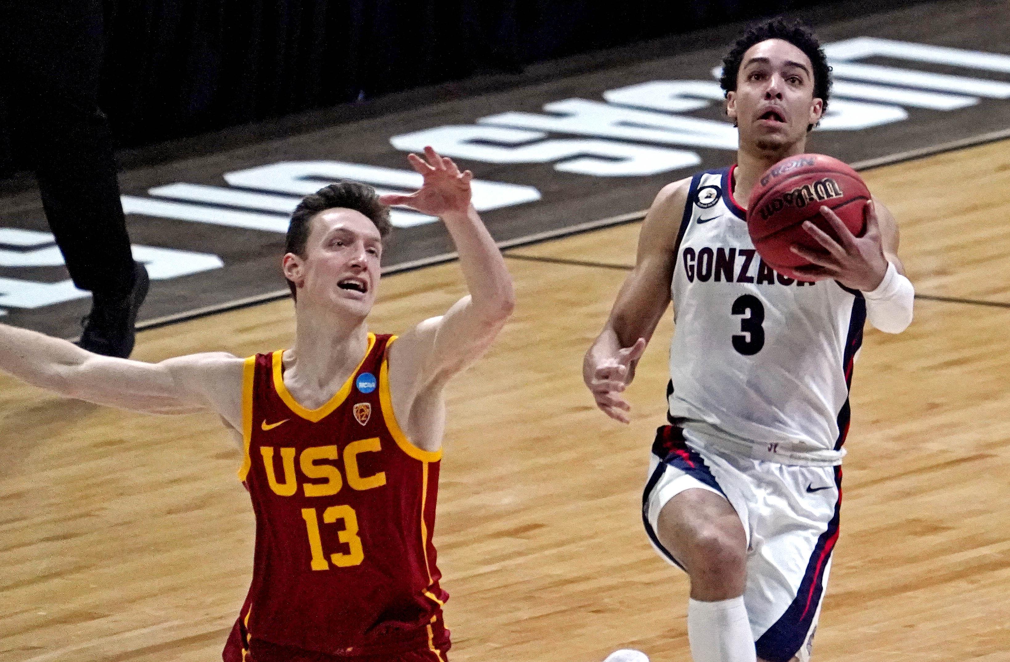 NCAA Basketball: NCAA Tournament-USC vs Gonzaga