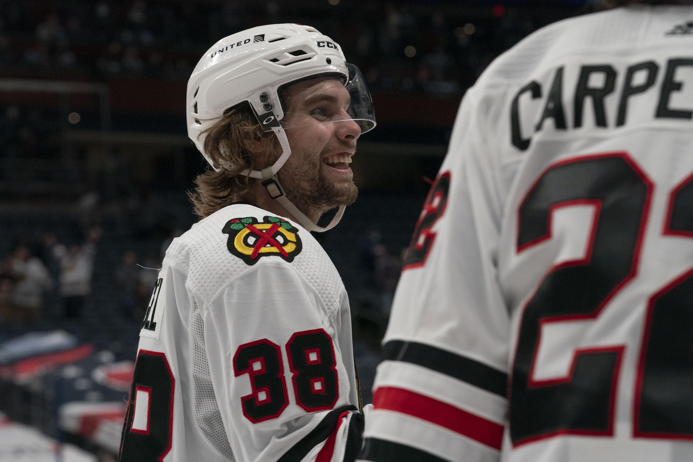 NHL: APR 12 Blackhawks at Blue Jackets