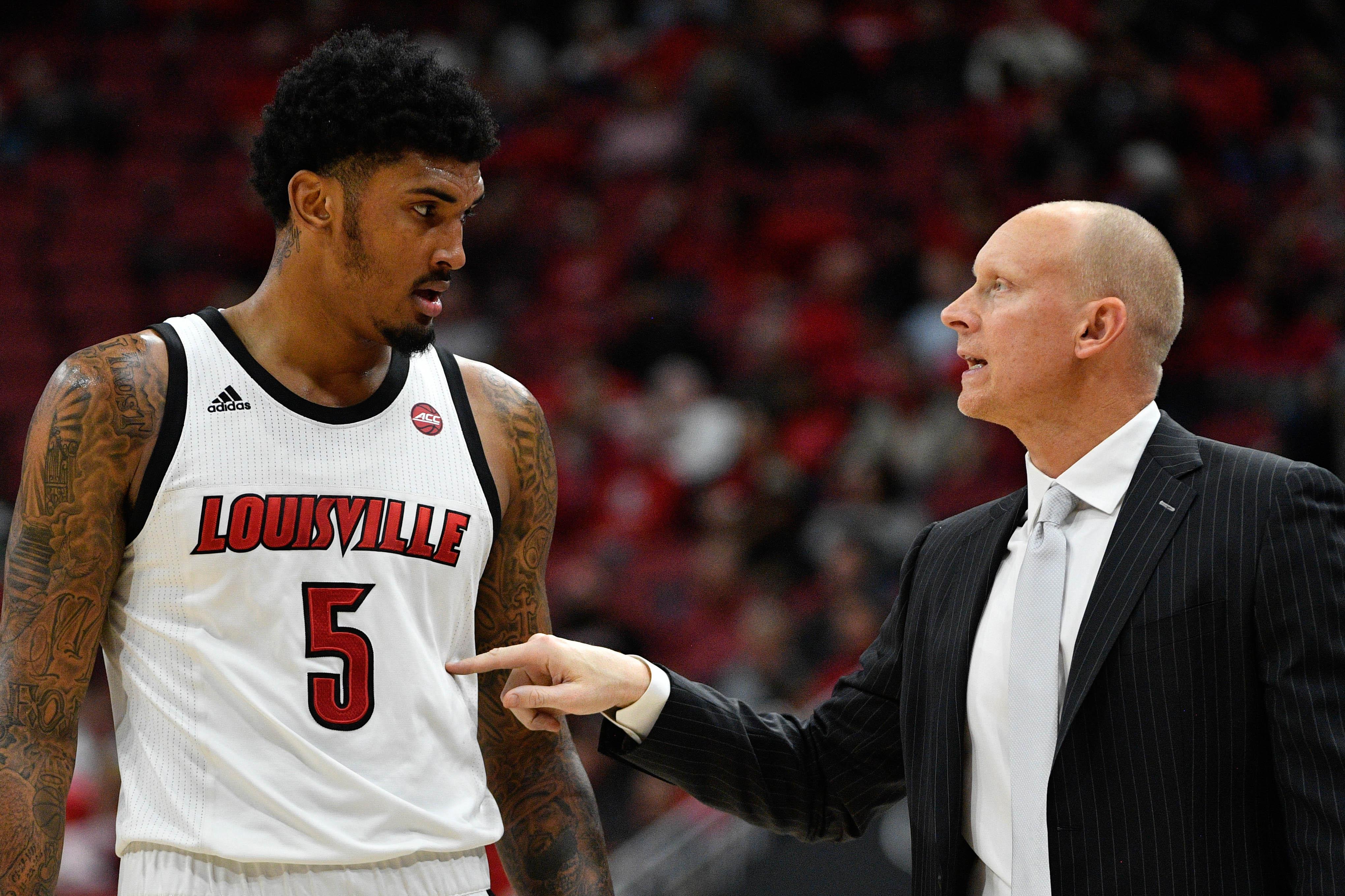 NCAA Basketball: Miami at Louisville