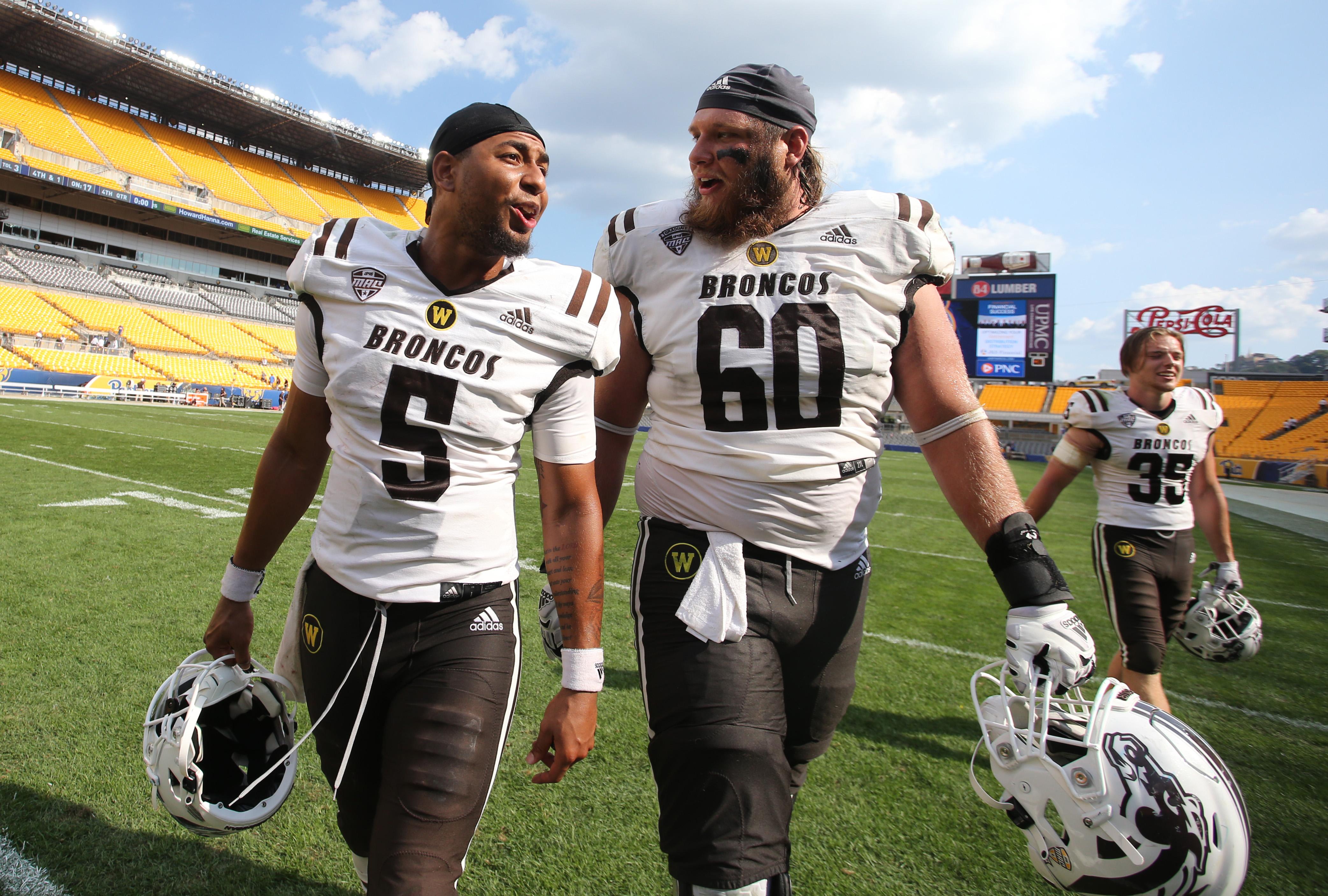 NCAA Football: Western Michigan at Pittsburgh