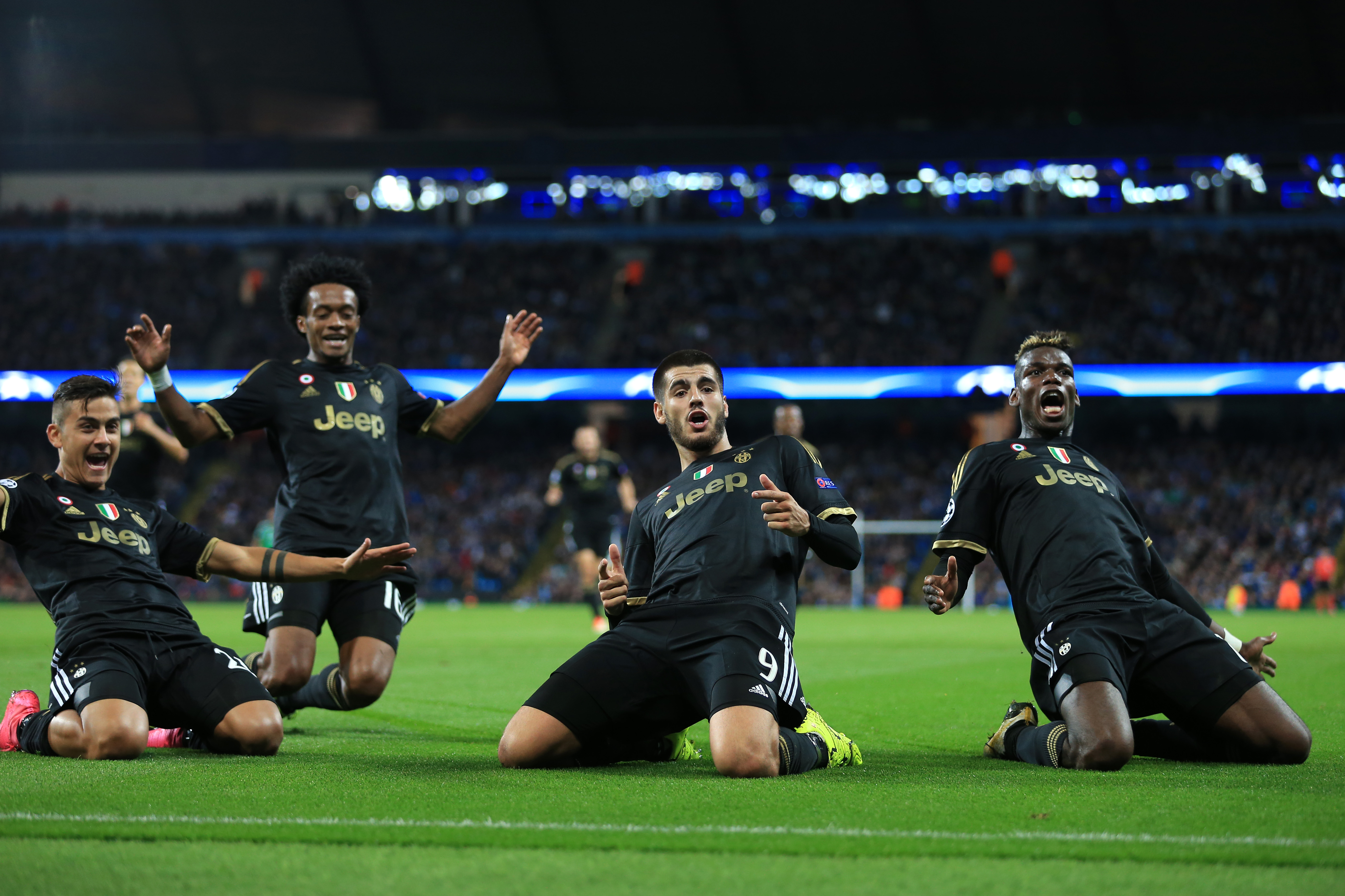 Manchester City v Juventus - UEFA Champions League