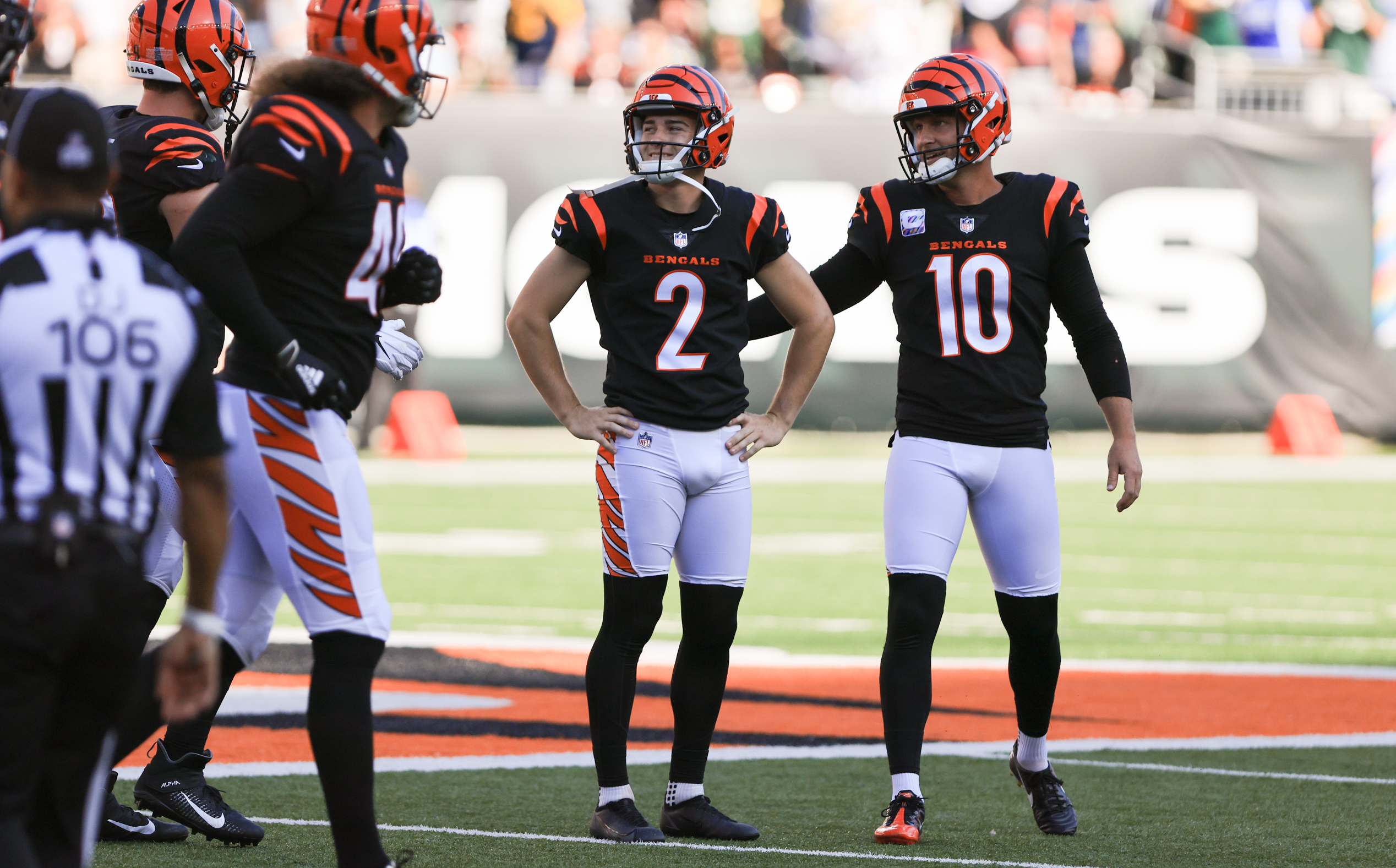 NFL: OCT 10 Packers at Bengals