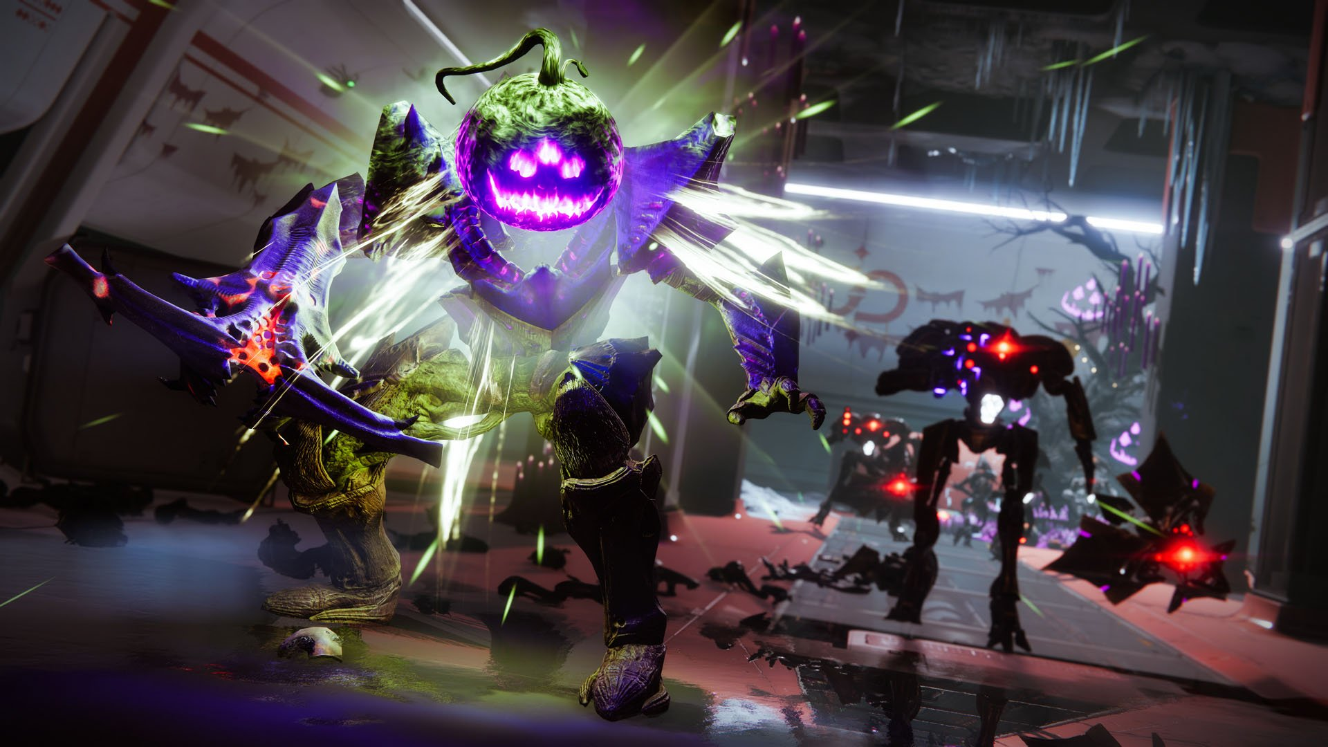 Headless Ones and Vex in the Haunted Lost Sectors of Destiny 2