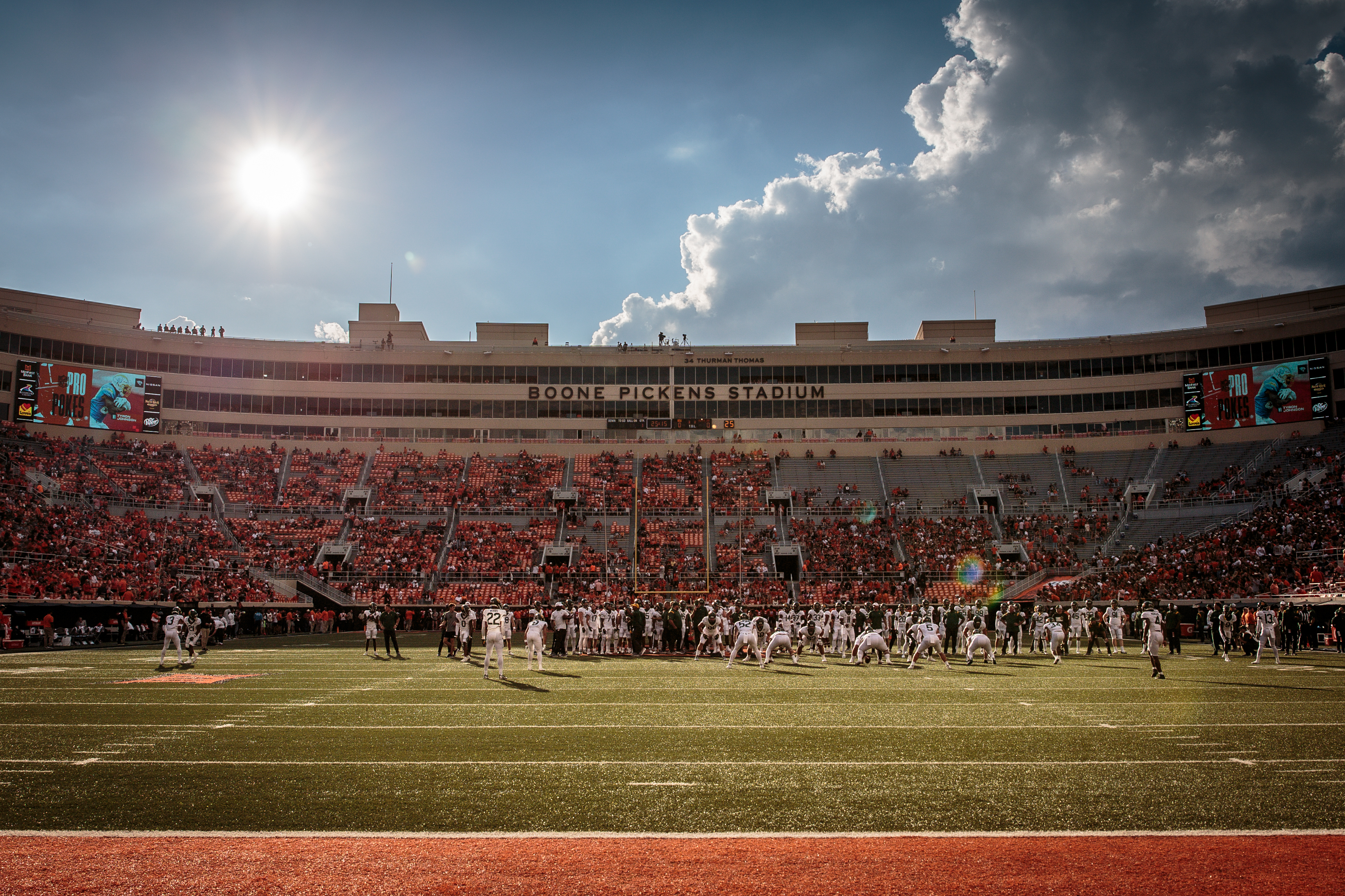 COLLEGE FOOTBALL: OCT 02 Baylor at Oklahoma State