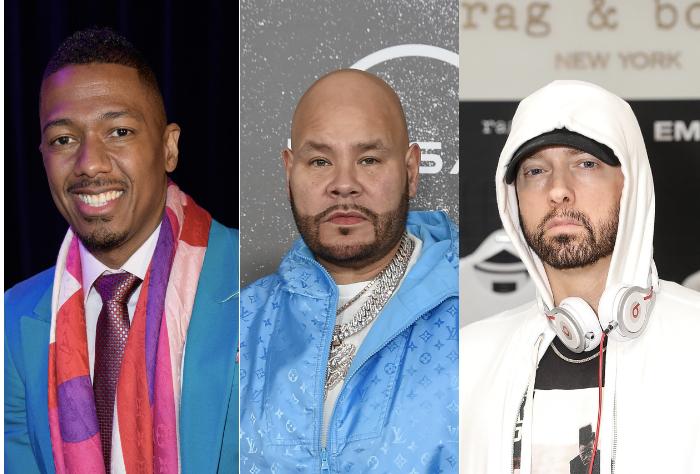 Nick Cannon, Fat Joe, Eminem