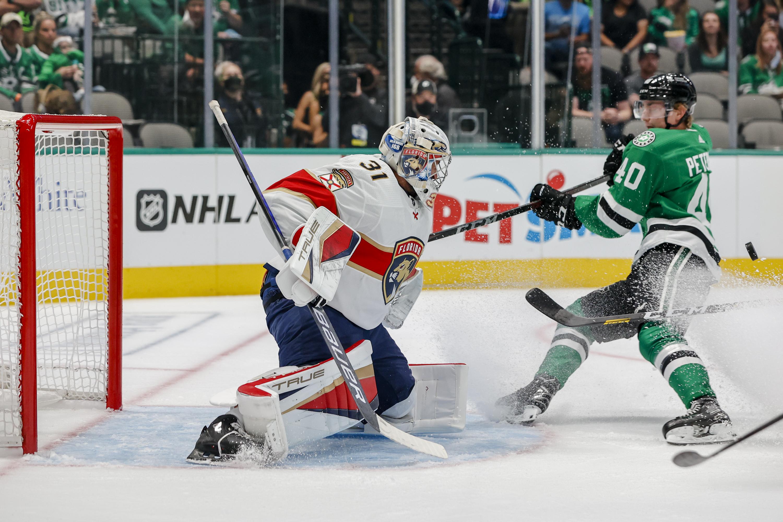 NHL: SEP 29 Preseason - Panthers at Stars