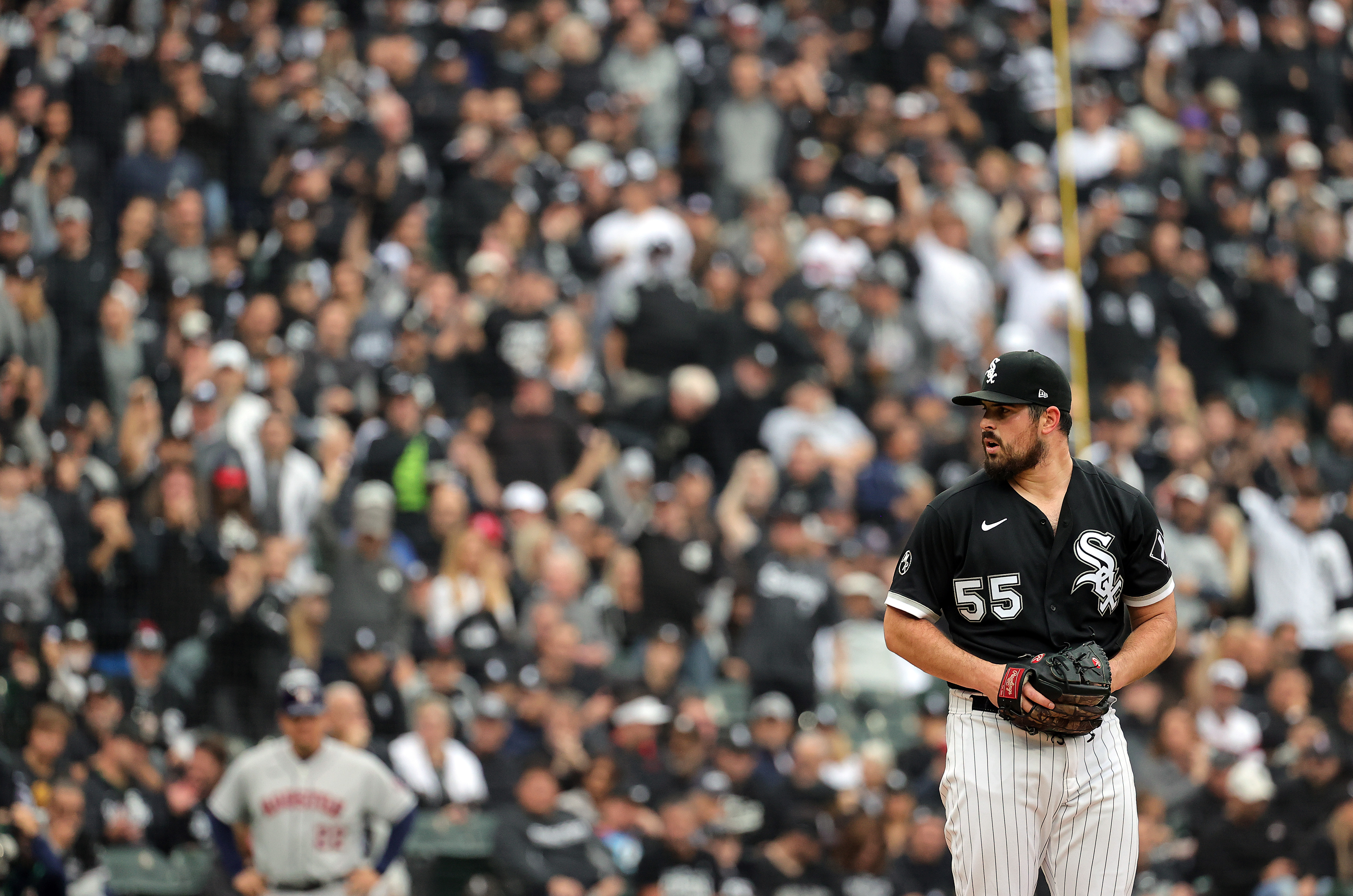 Carlos Rodon has an uncertain future as he enters free agency, and Tuesday's ALDS Game 4 start could have been his last in a White Sox uniform.