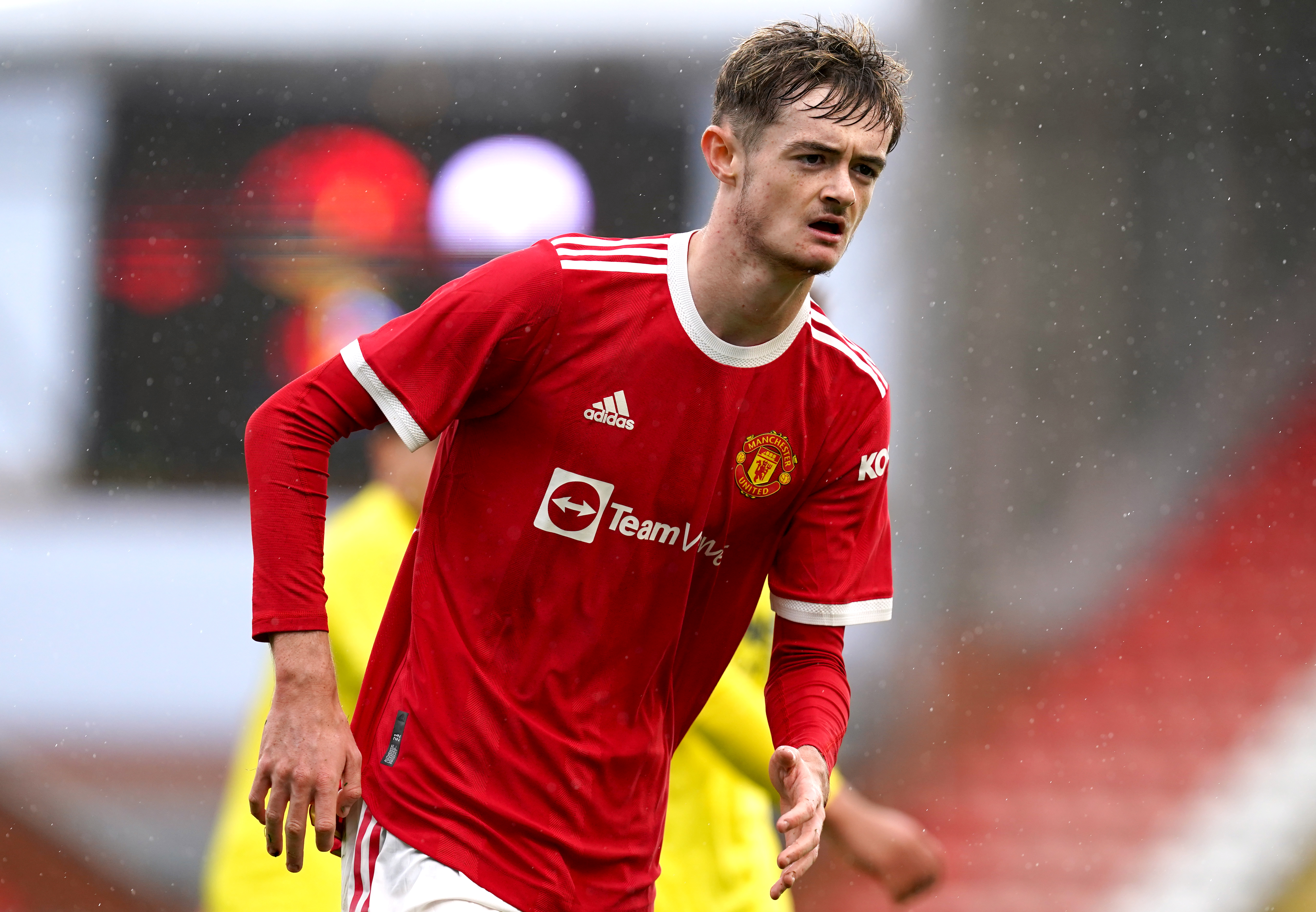 Manchester United v Villarreal - UEFA Youth League - Group F - Leigh Sports Village