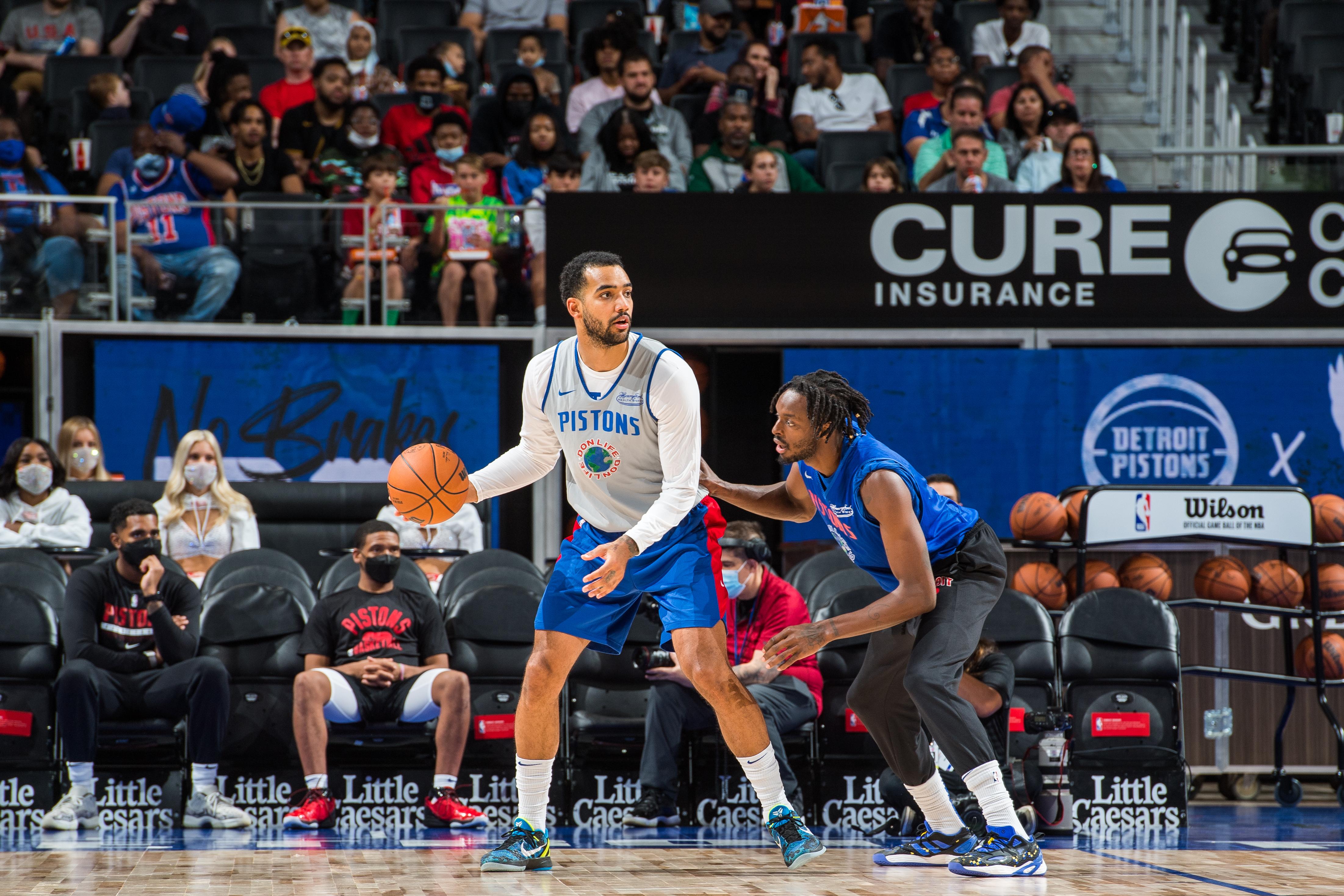 Detroit Pistons Open Practice