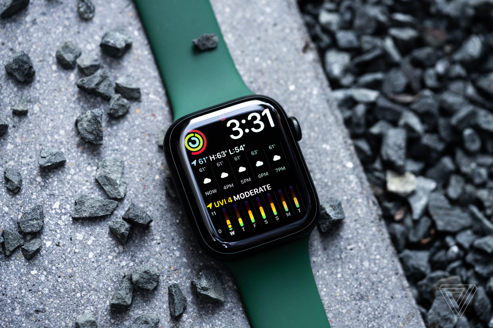 The Apple Watch Series 7