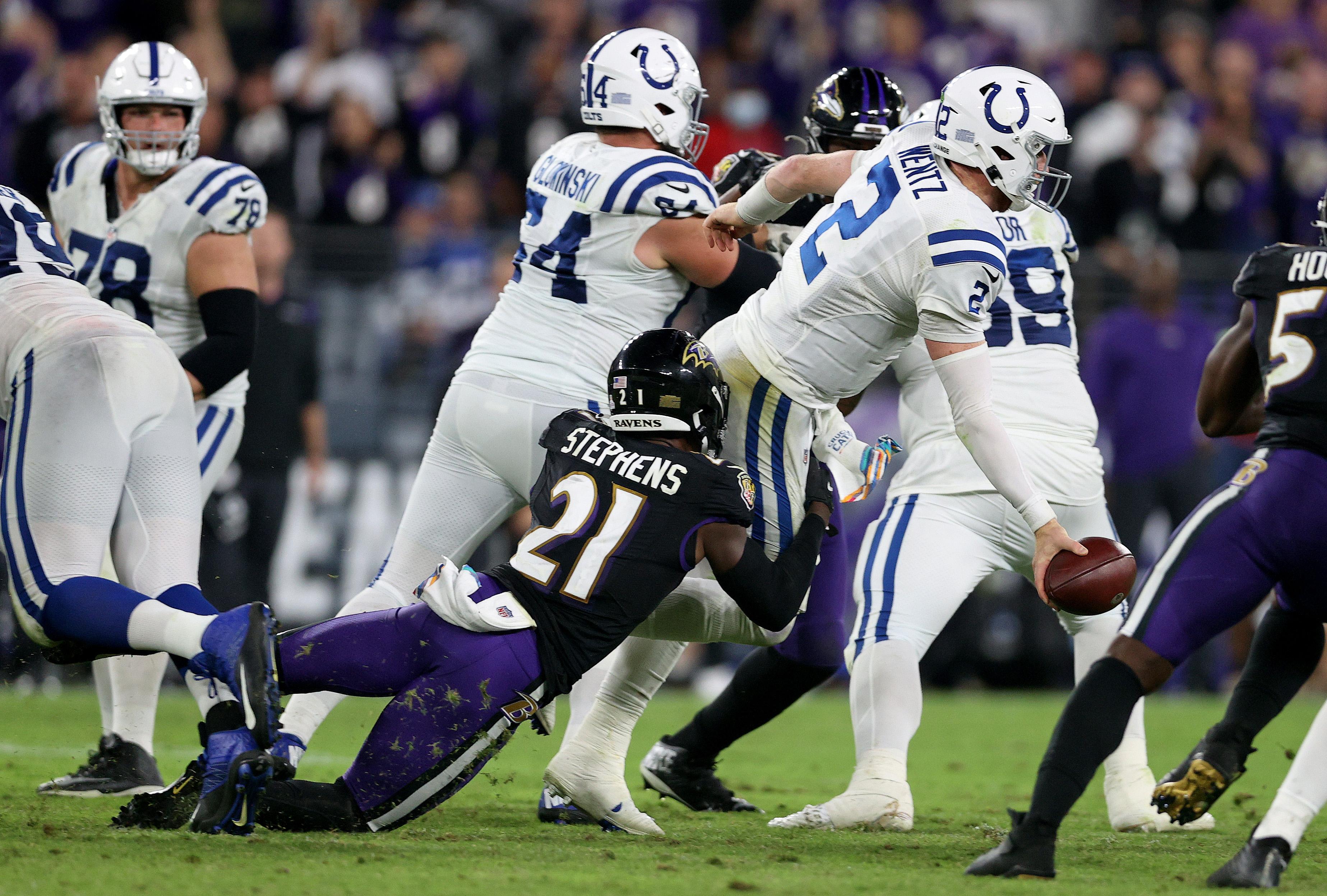Indianapolis Colts v Baltimore Ravens