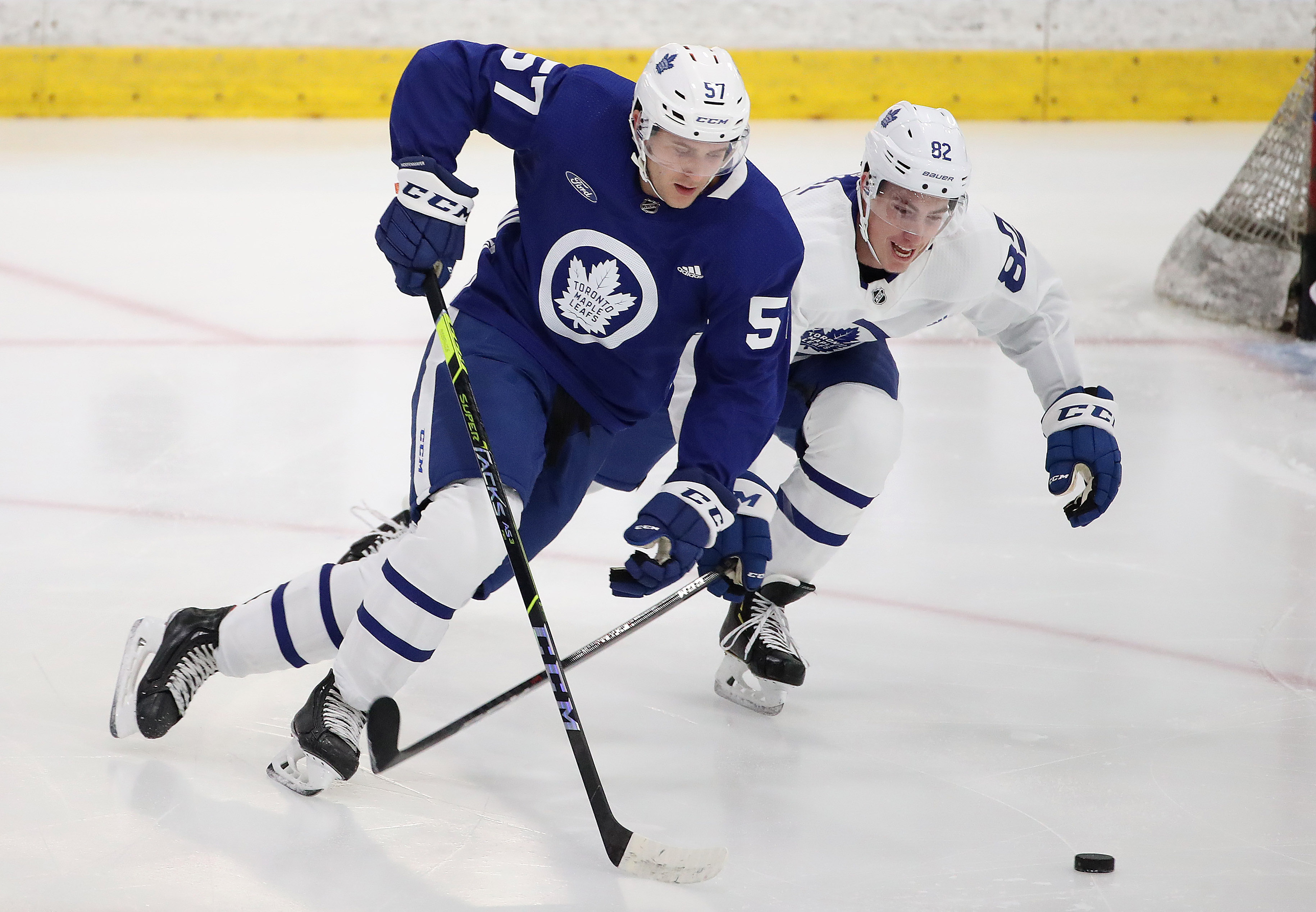 The Toronto Maple Leafs hold their development camp