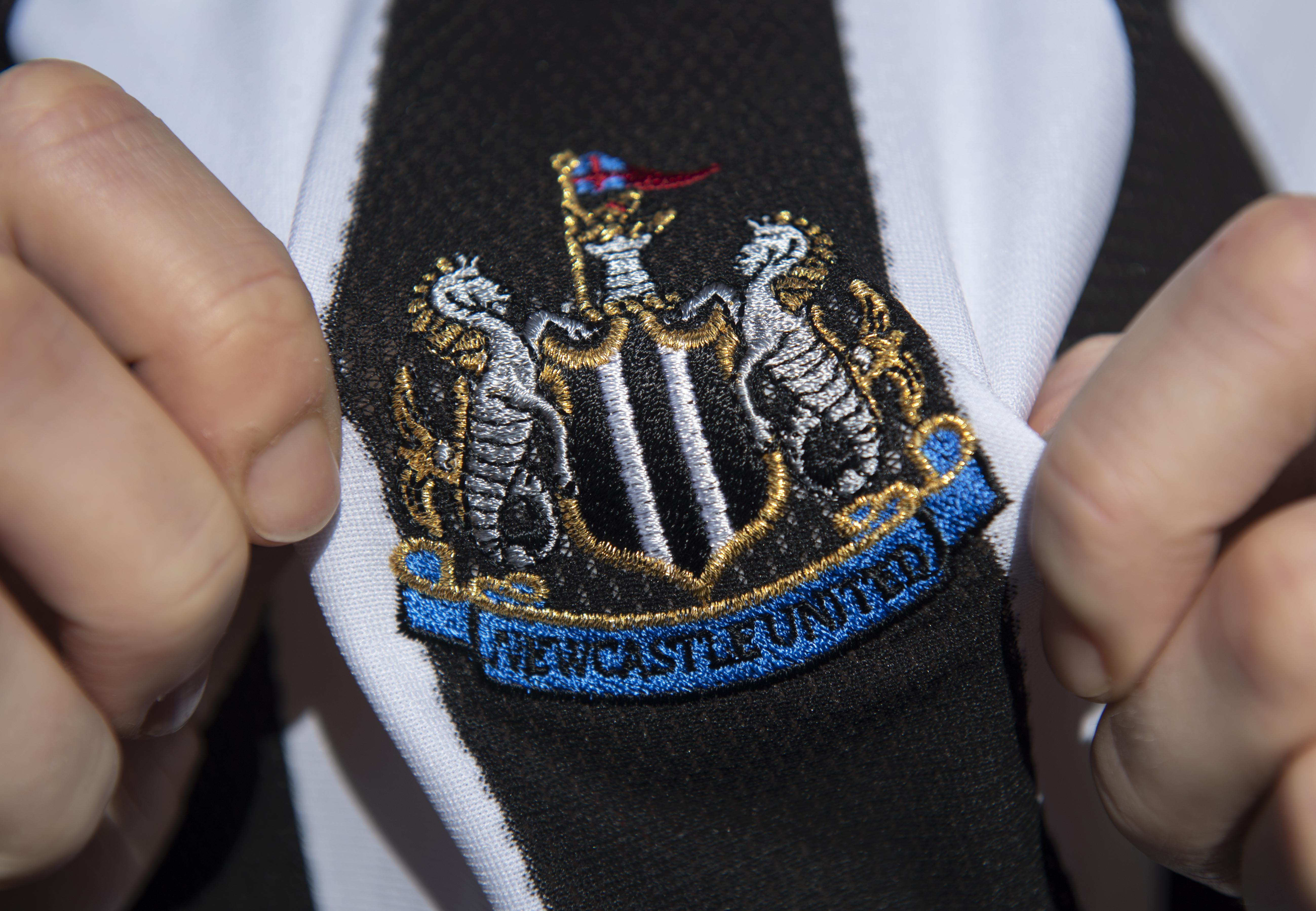 The Newcastle United Club Badge