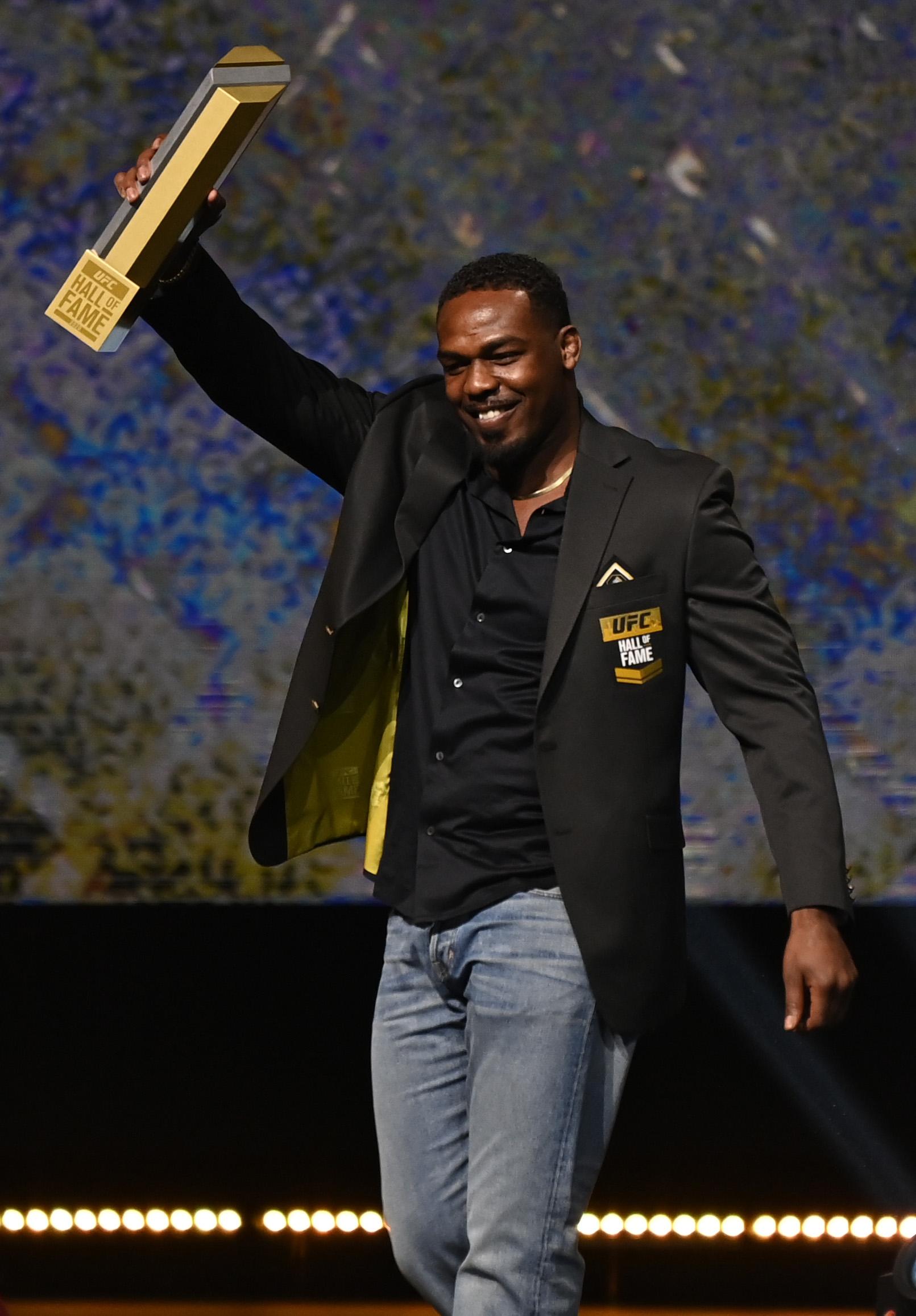 UFC Hall of Fame Class of 2020 Induction Ceremony - Jon Jones