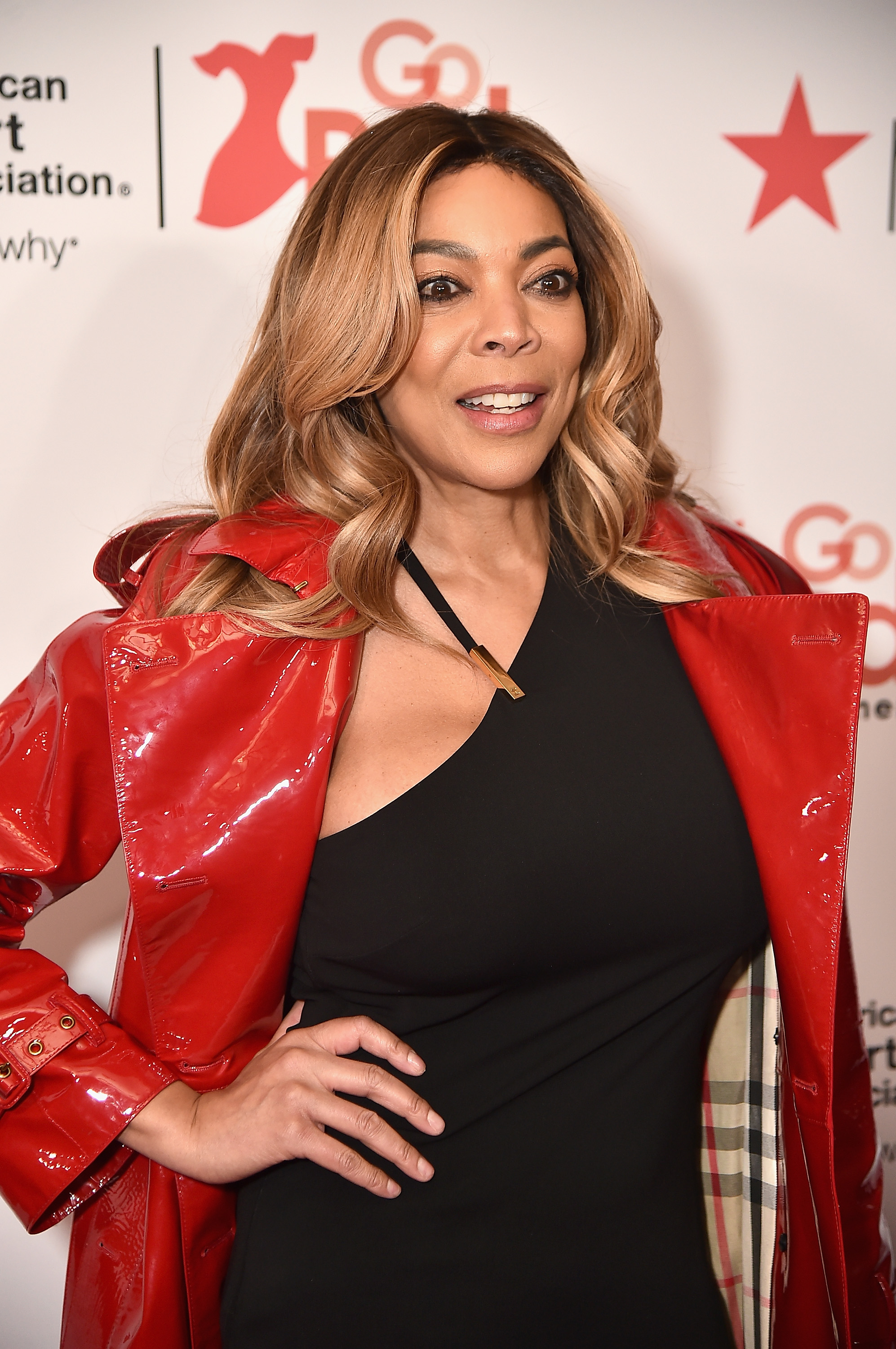 Wendy Williams attends the 2018 American Heart Association's Go Red For Women Red Dress Collection in New York City.